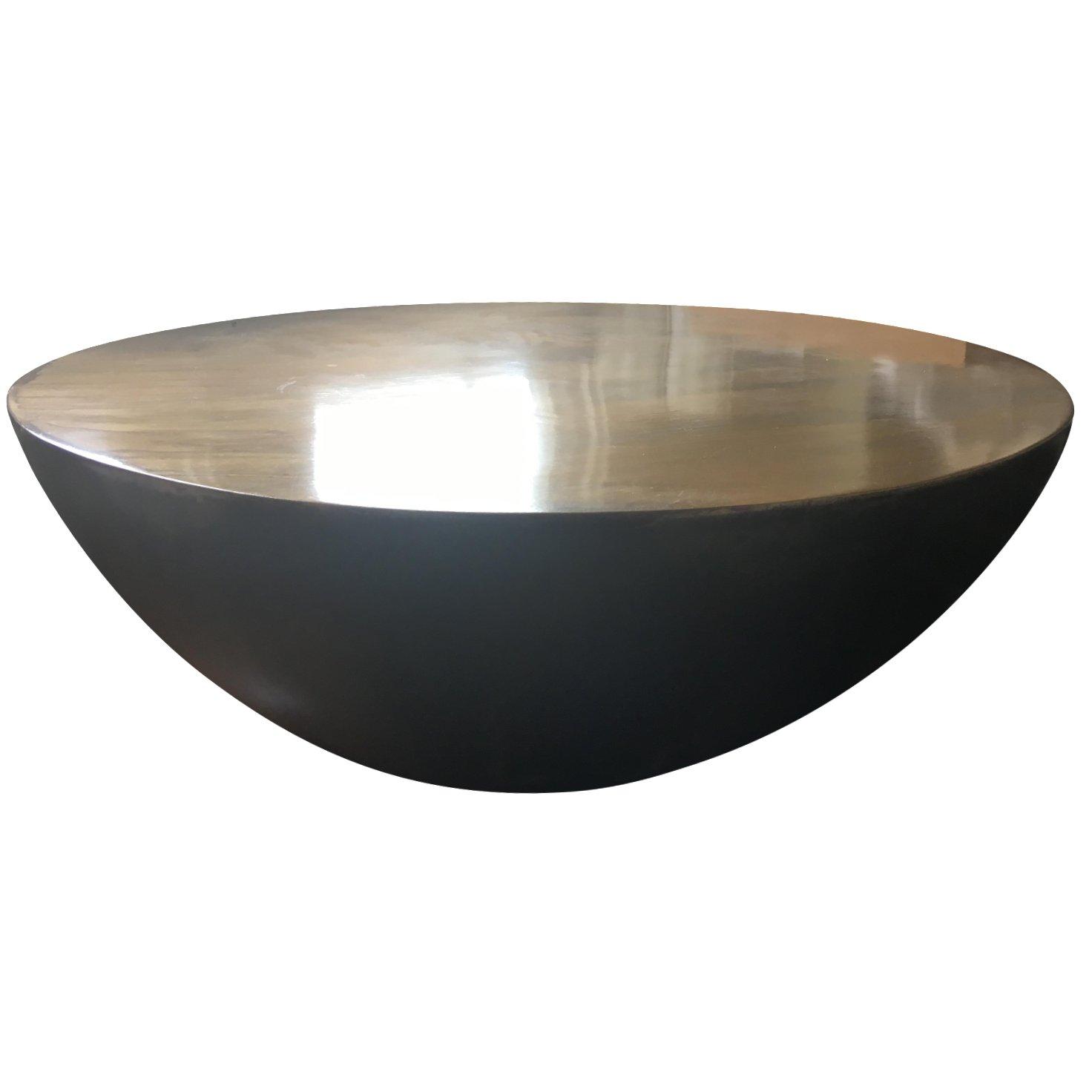 Gump's Copper Kettledrum Table | Chairish