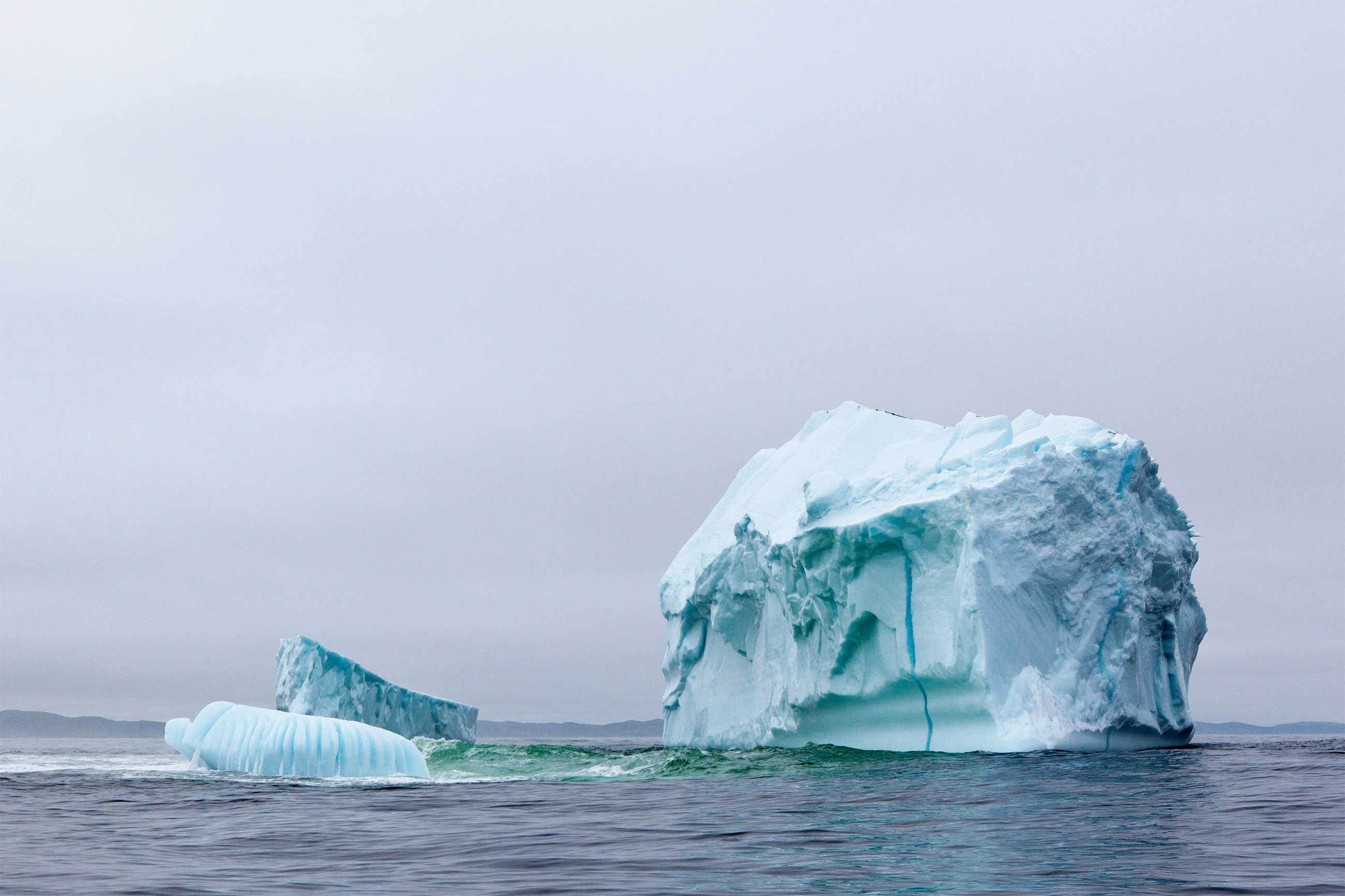 Large iceberg photo