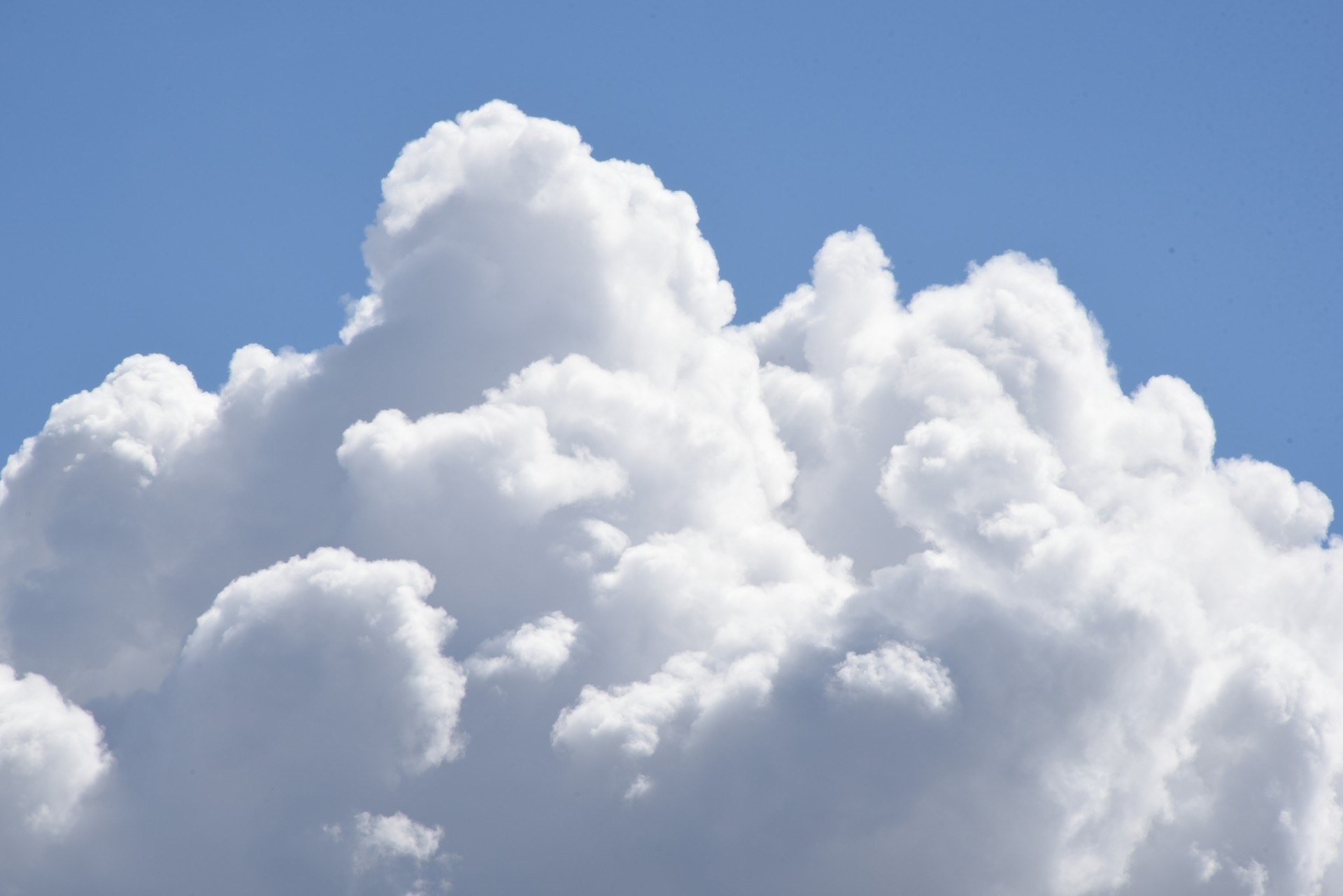 Large Cumulus Clouds #1 Free Stock Photo - Public Domain Pictures