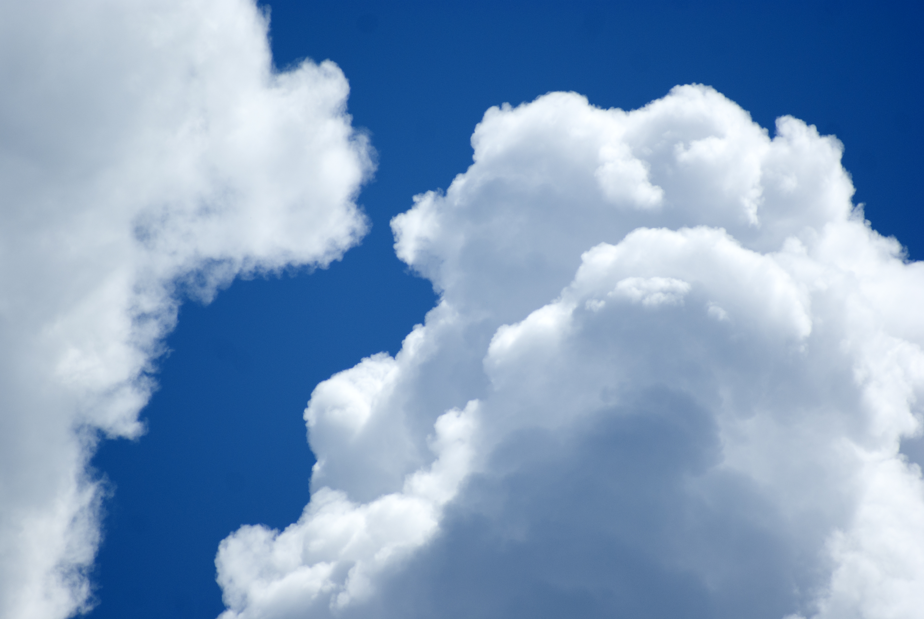 Large Puffy Clouds, Abstract, Landscape, View, Travel, HQ Photo