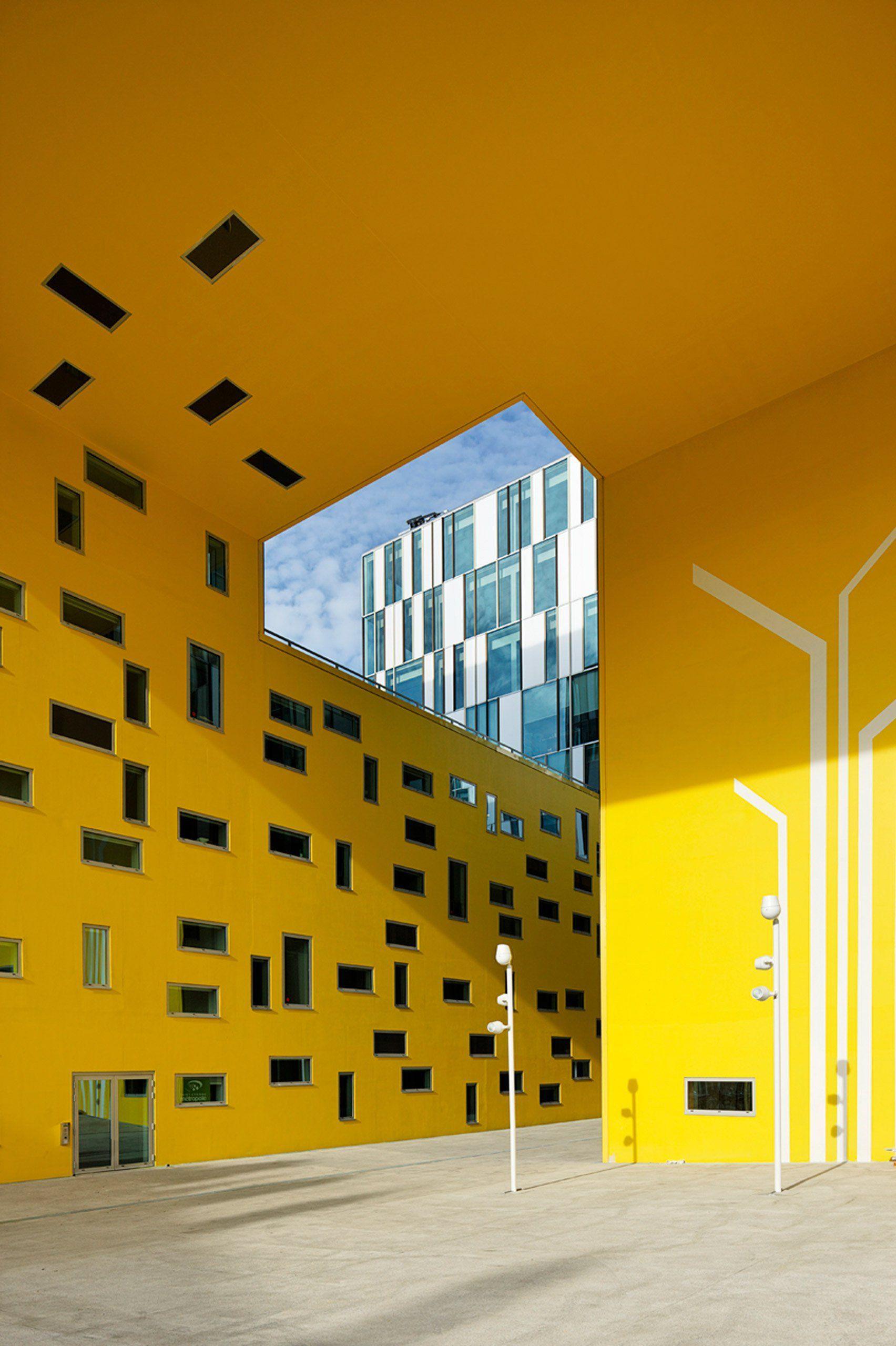Free photo: Large Yellow Building - Structure, Wedding cake house ...
