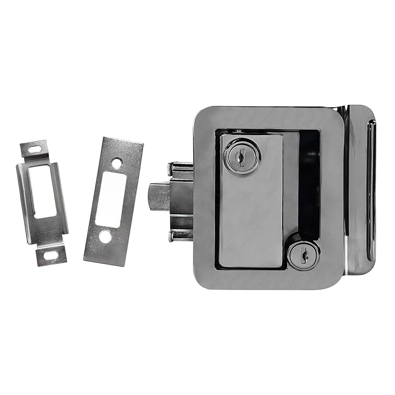 Amazon.com: Chrome RV Paddle Entry Door Handle | RV Paddle Door ...