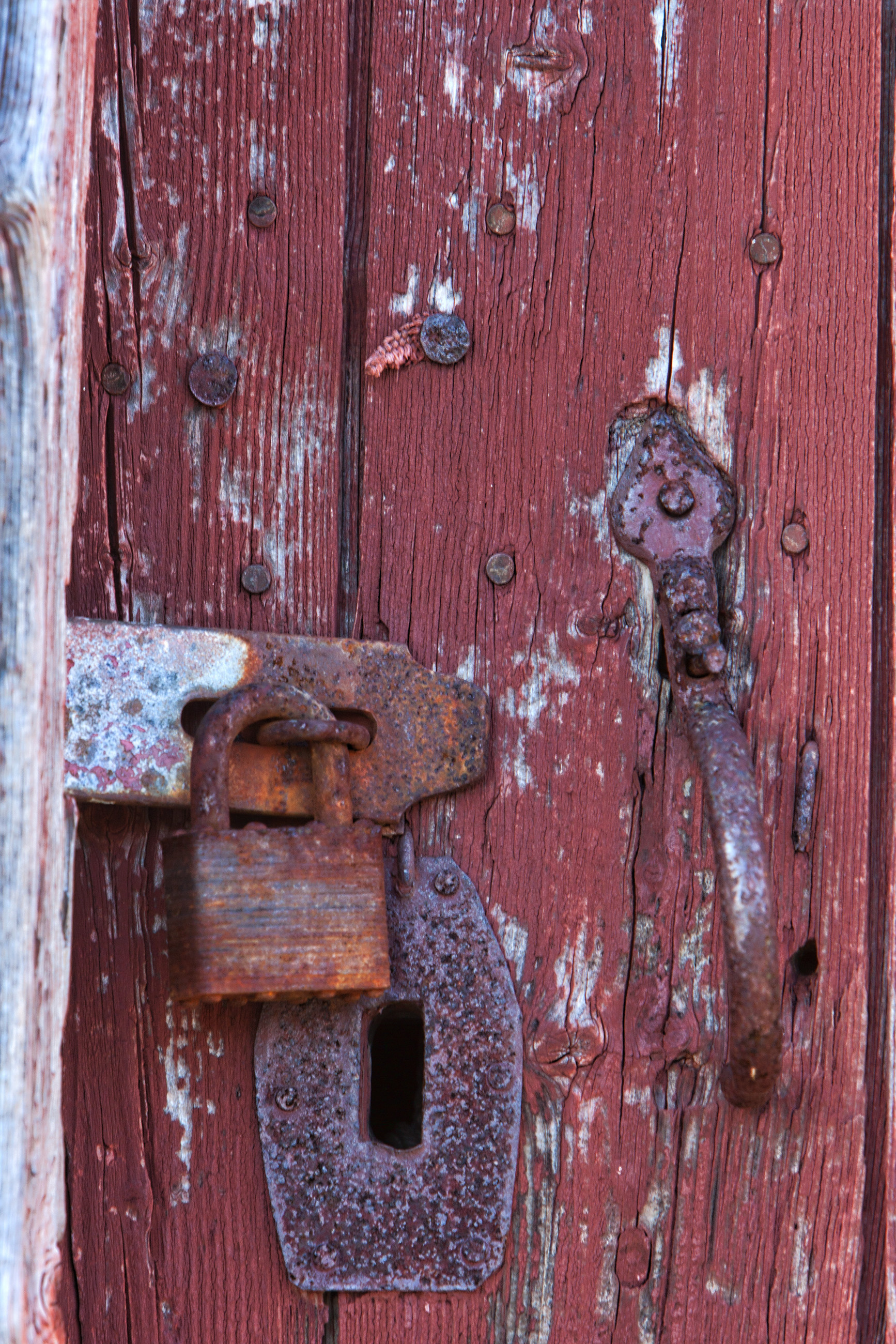 Latch and lock, Antique, Old, Padlock, Protection, HQ Photo
