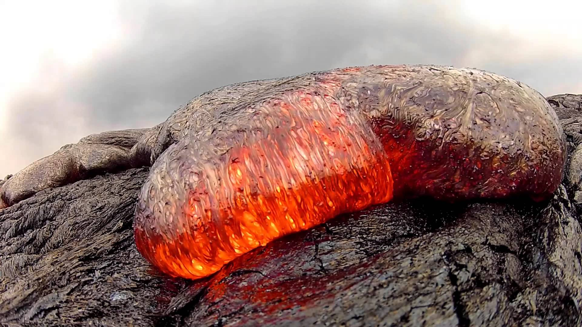 7 15 13 Lava Flow Hawaii Kilauea Volcano Lava Flow GoPro Hero 2 ...
