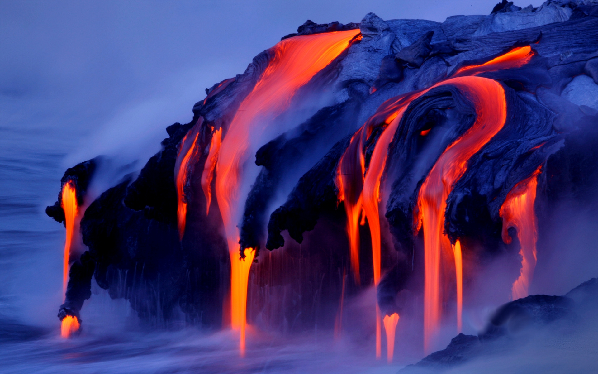 Lava Flow HD Wallpaper, Background Images