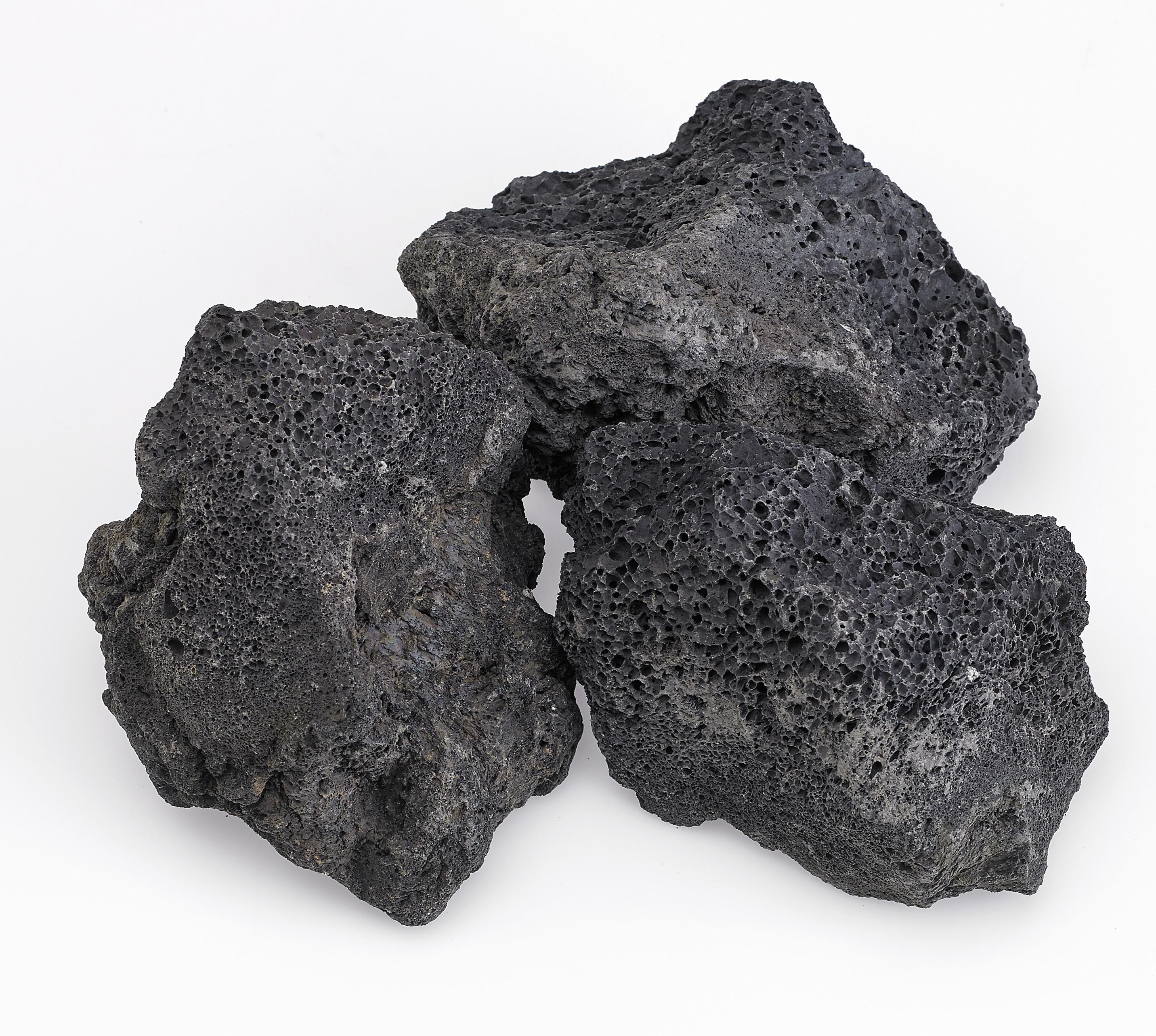 XXL Black Lava Rock