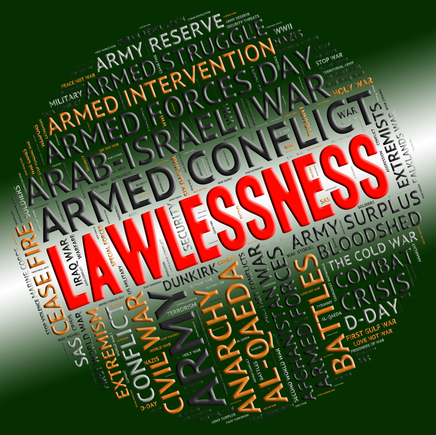 Lawlessness word shows insurrectionary wordcloud and wordclouds photo