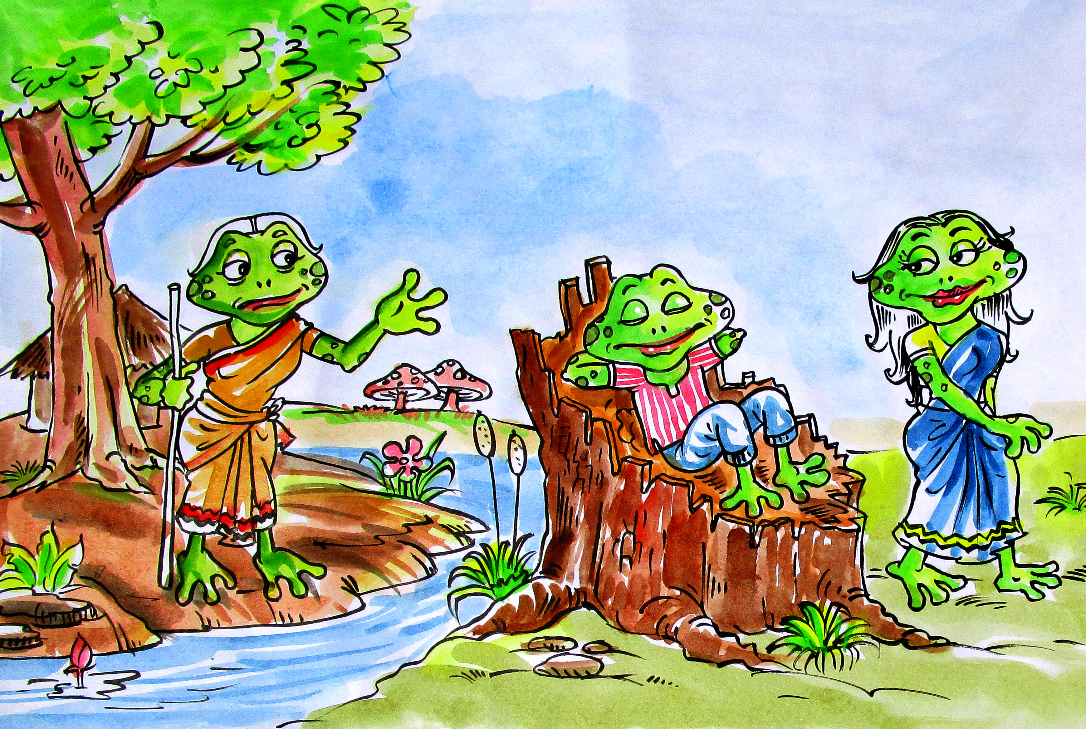 The Lazy Frog | Azim Premji Foundation Puducherry