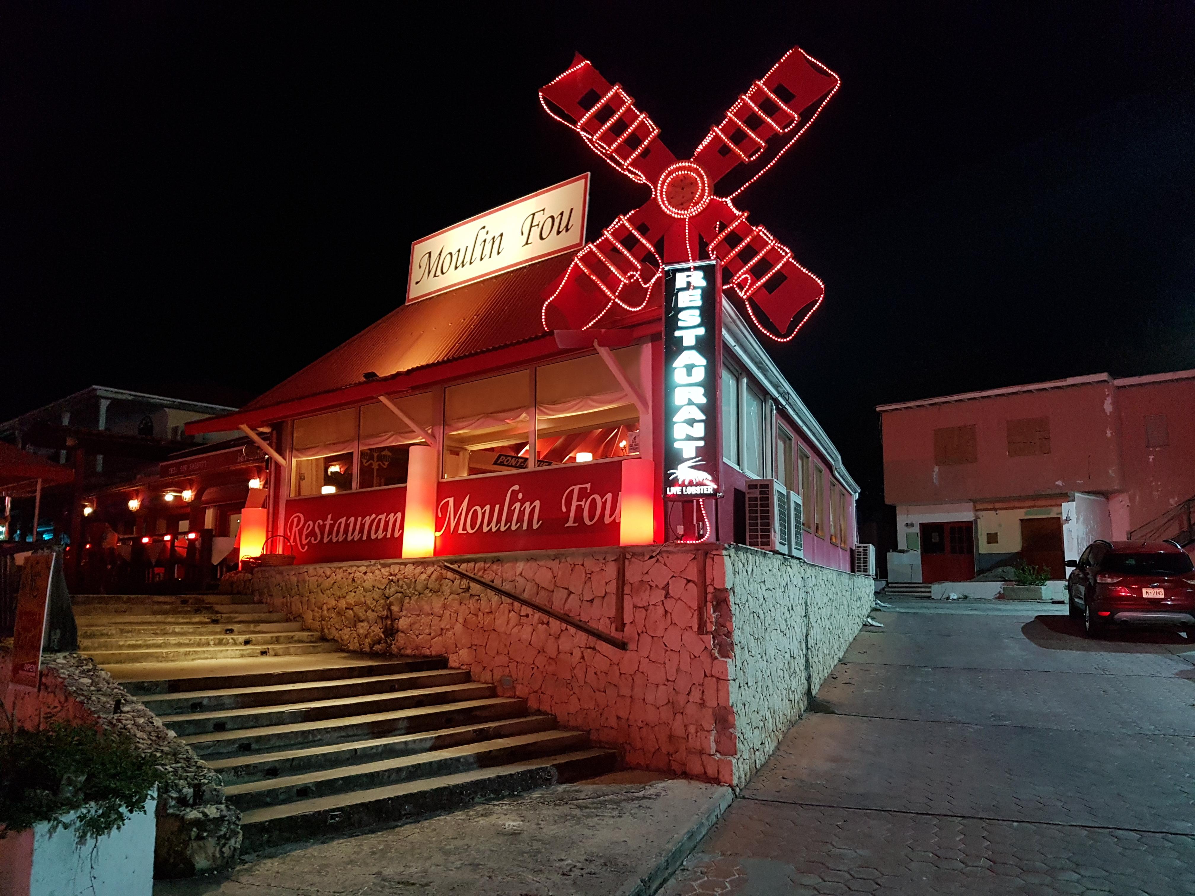 Le Moulin Fou à Sint-Maarten Newsly24.com, Le Moulin Fou à Sint-Maarten Newsly24.com