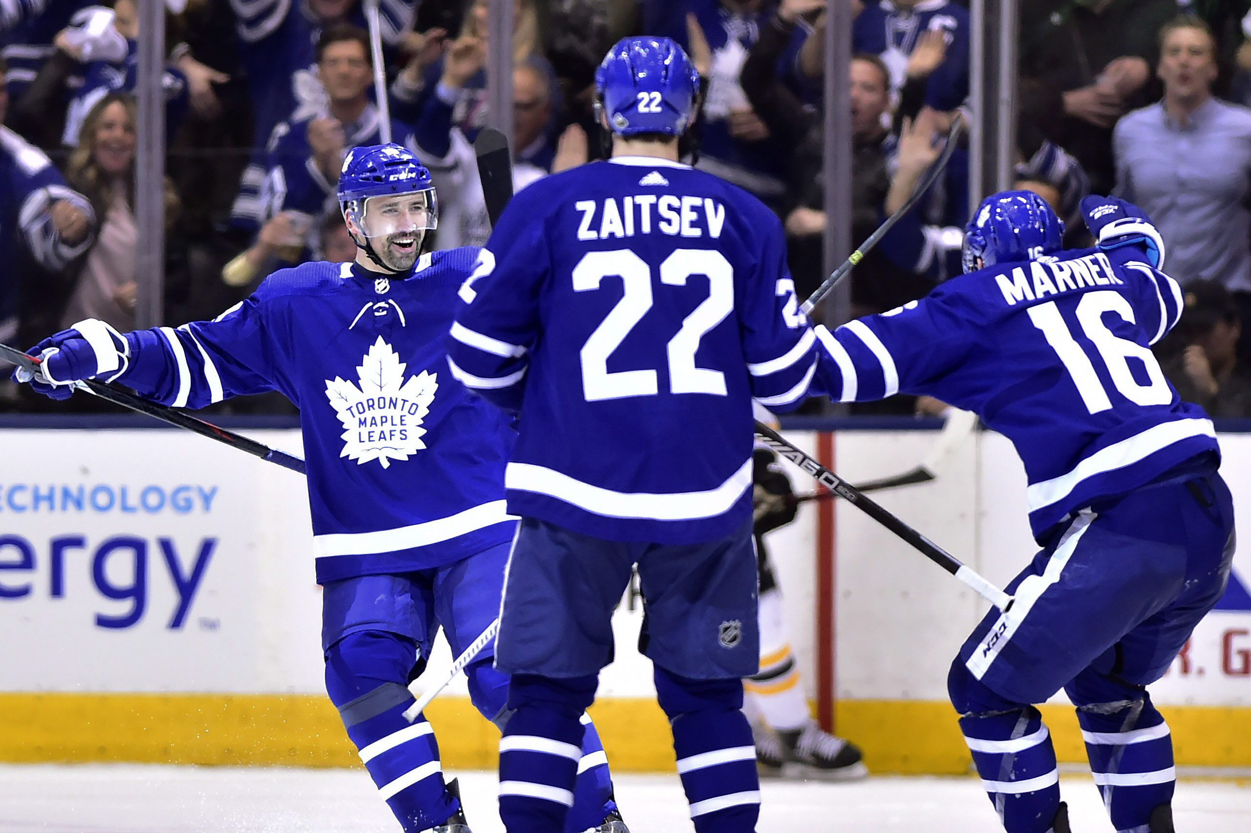 Andersen leads Maple Leafs in 3-1 win over Bruins to force Game 7