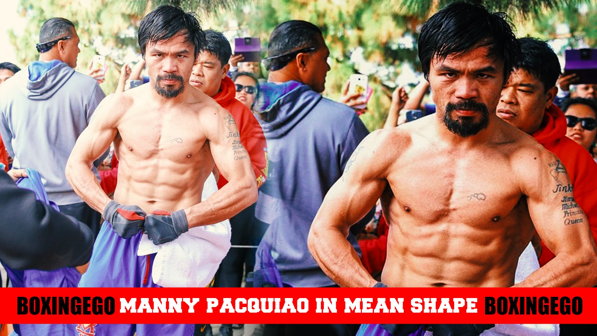 PACQUIAO LOOKS LIKE A LEAN, MEAN, KILLING MACHINE IN RECENT PHOTO ...