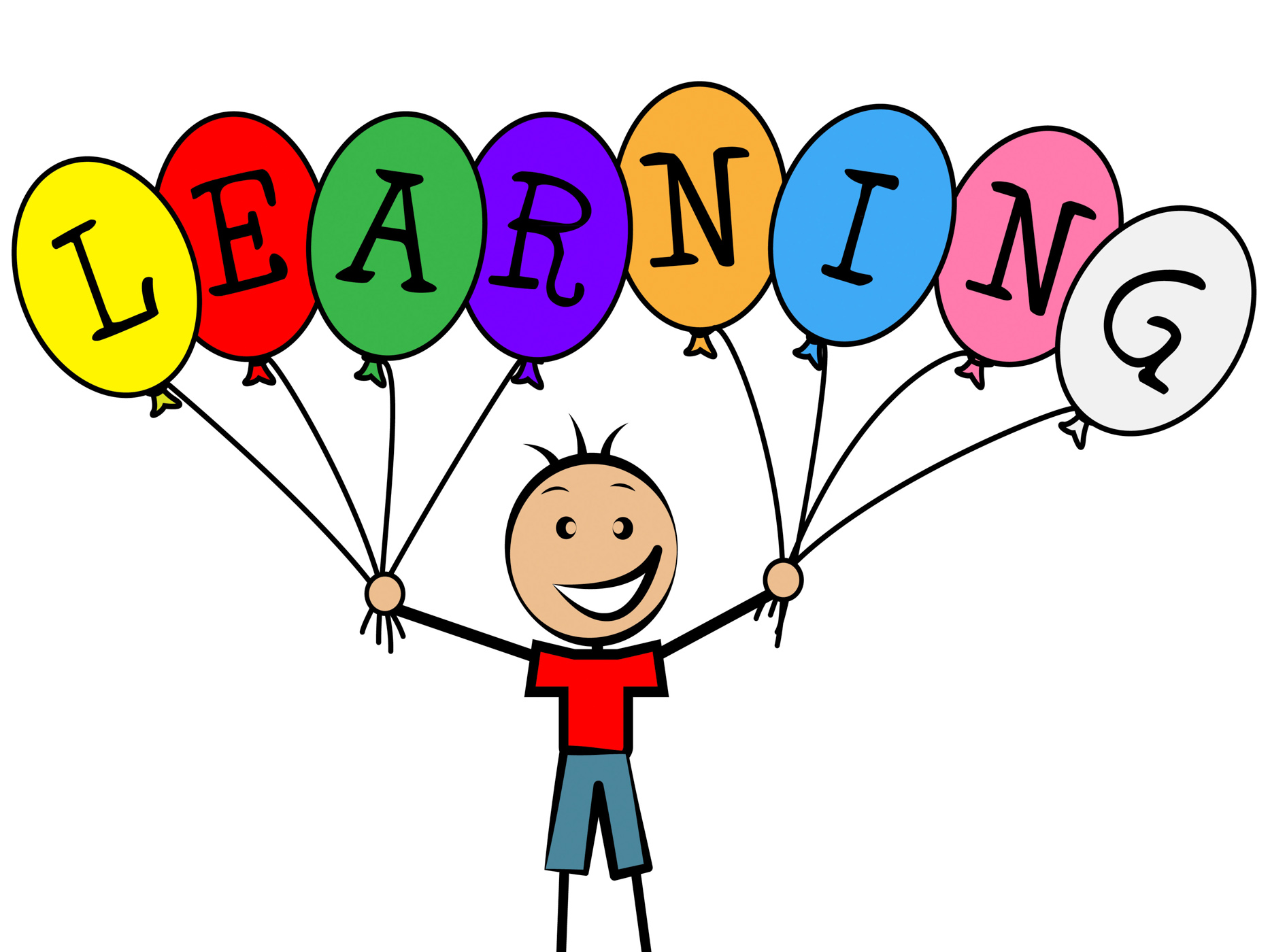 Learning Balloons Shows Youngster Train And Male, Balloon, Toddlers, School, Schooling, HQ Photo