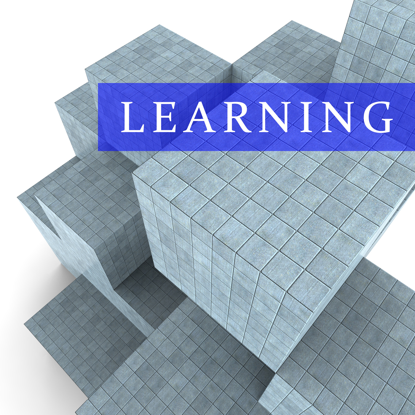 Learning Blocks Indicates Develop College And Educated 3d Rendering, 3drendering, Learning, Tutoring, Training, HQ Photo