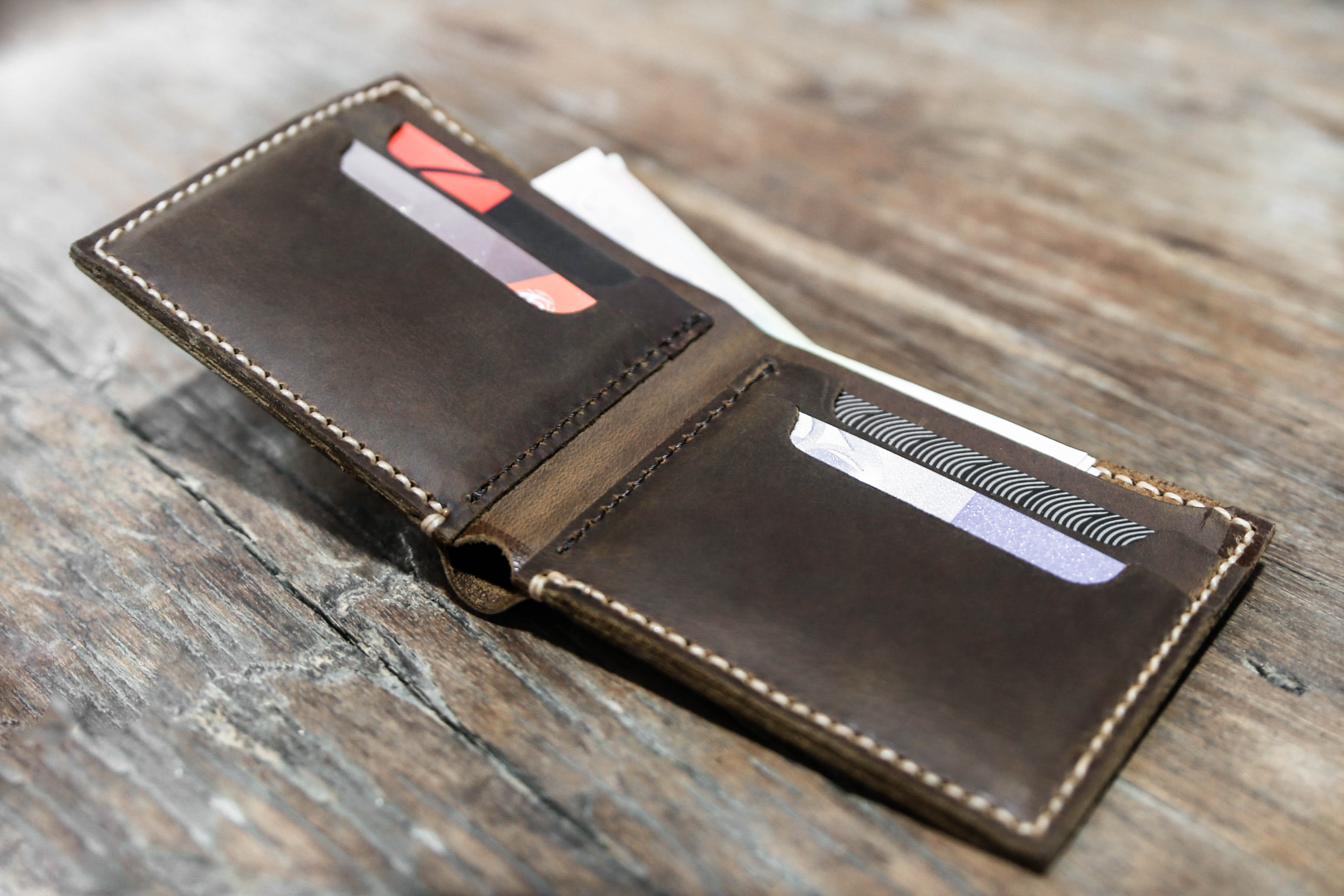 Euro Wallet | Personalized Mens Leather Wallet