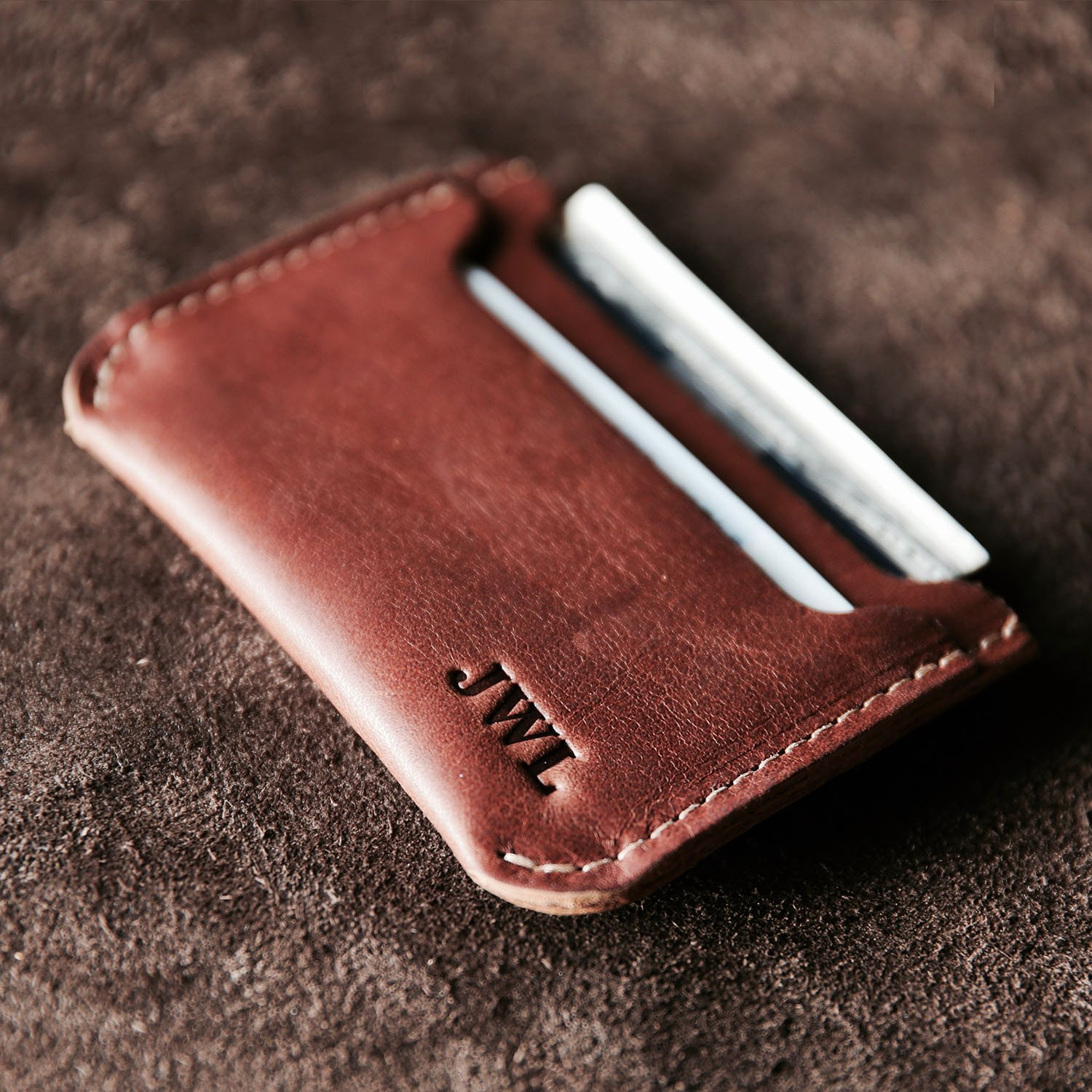 The Bradford Leather Pocket Wallet - Front Pocket Fine Leather Wallets