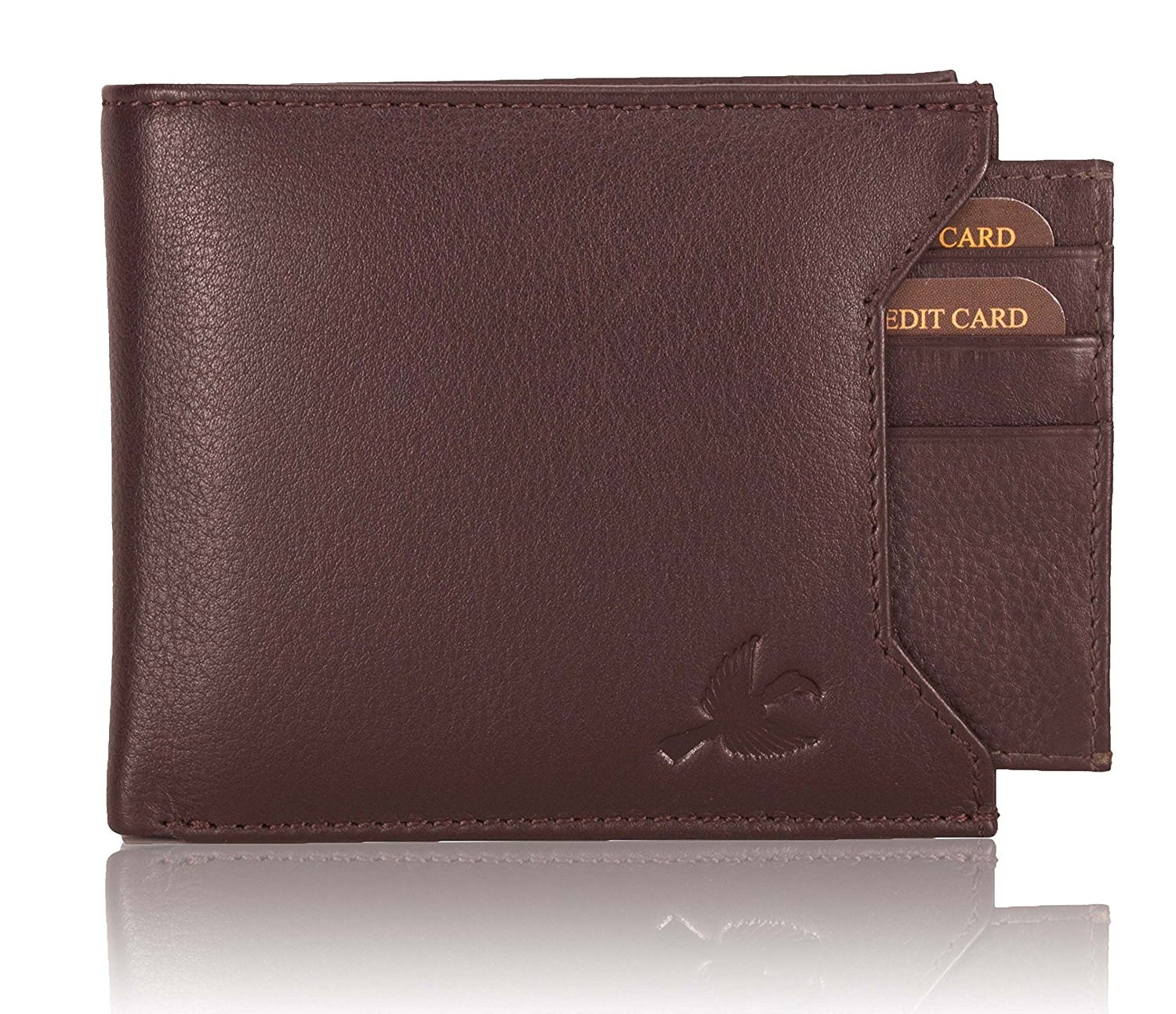Hornbull Men's Brown Leather Wallet – Online Shopping Portal