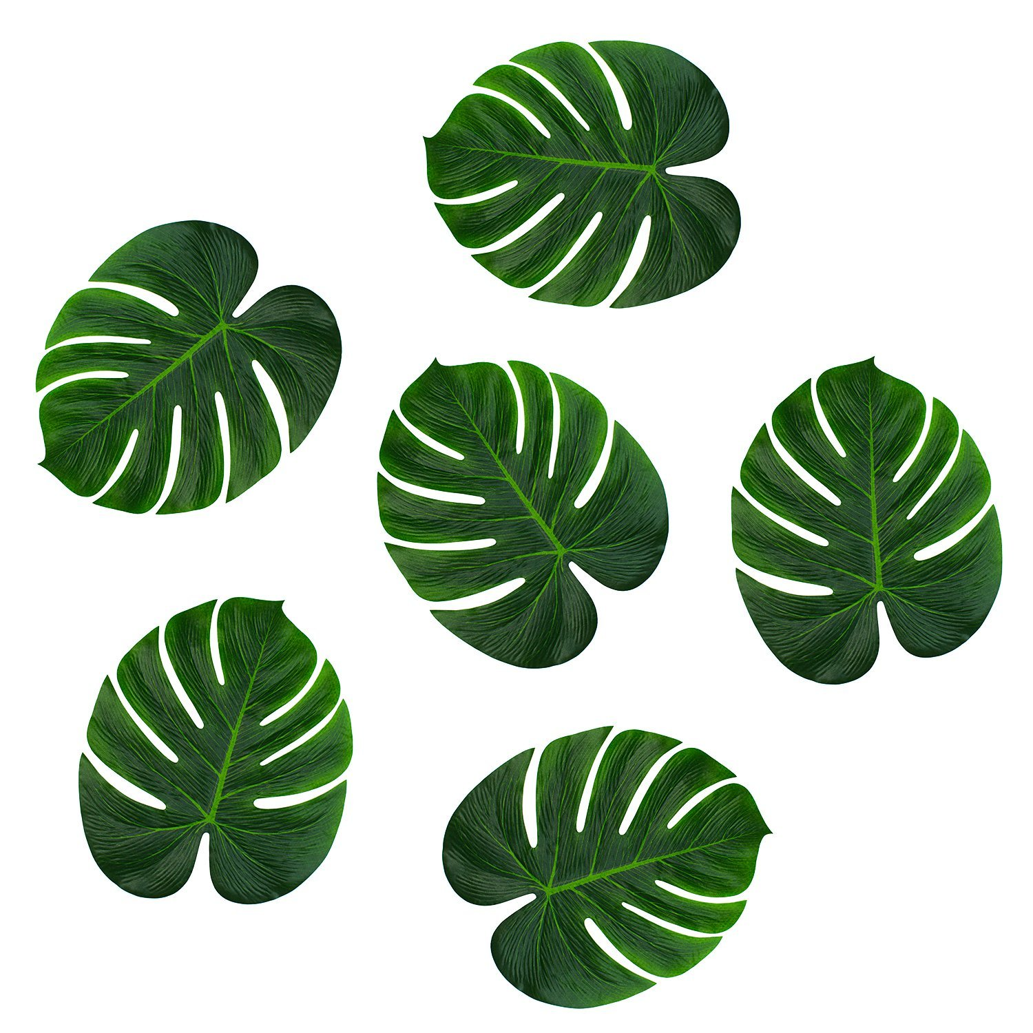 Amazon.com: Tropical Imitation Green Plant Paper Leaves 13