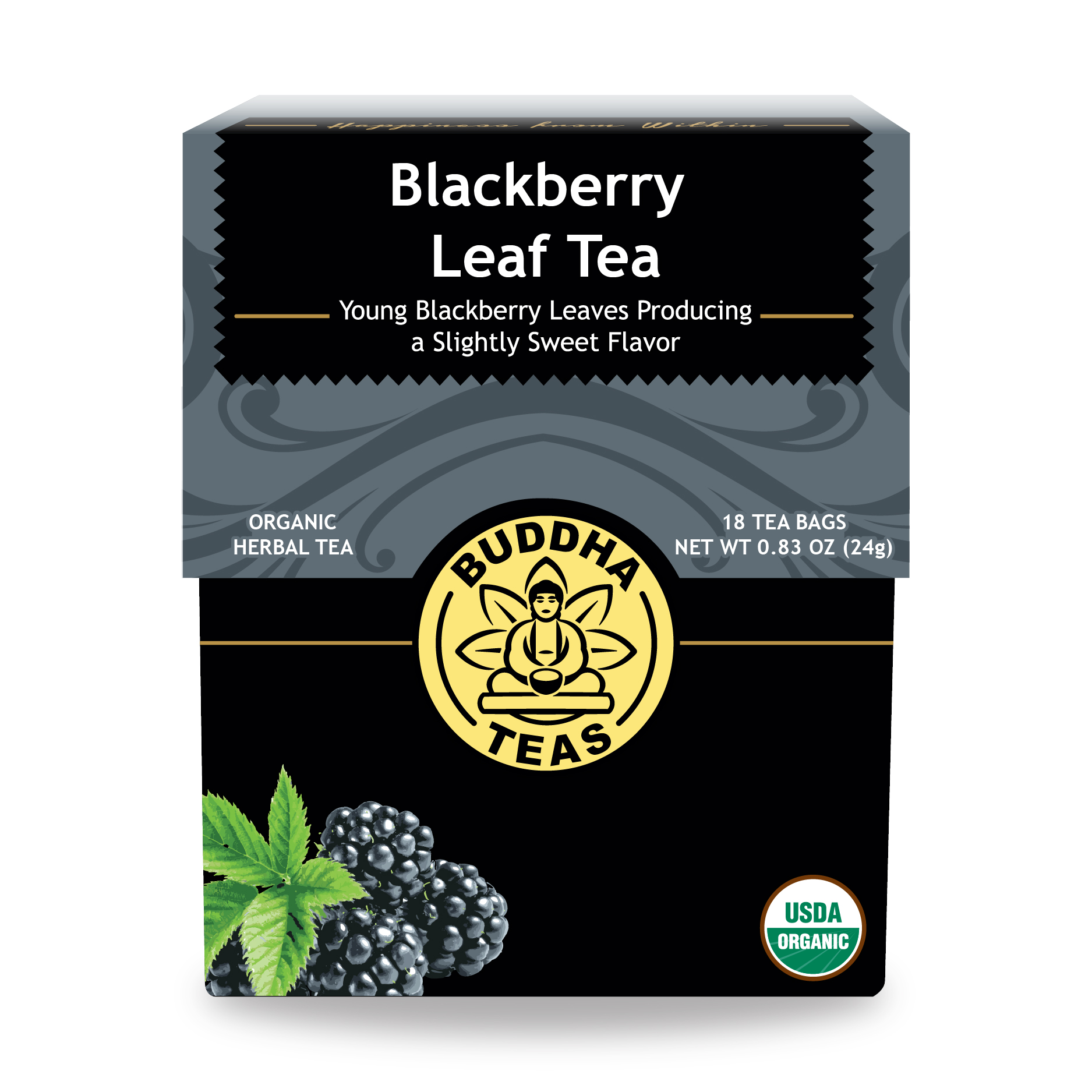 Buy Blackberry Leaf Tea Bags - Enjoy Health Benefits of Organic Teas ...