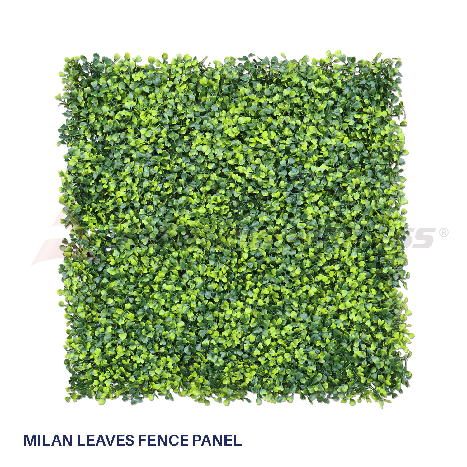 Artificial Faux Boxwood Milan Leaves Leaf Decorative Fence Screen 20 ...