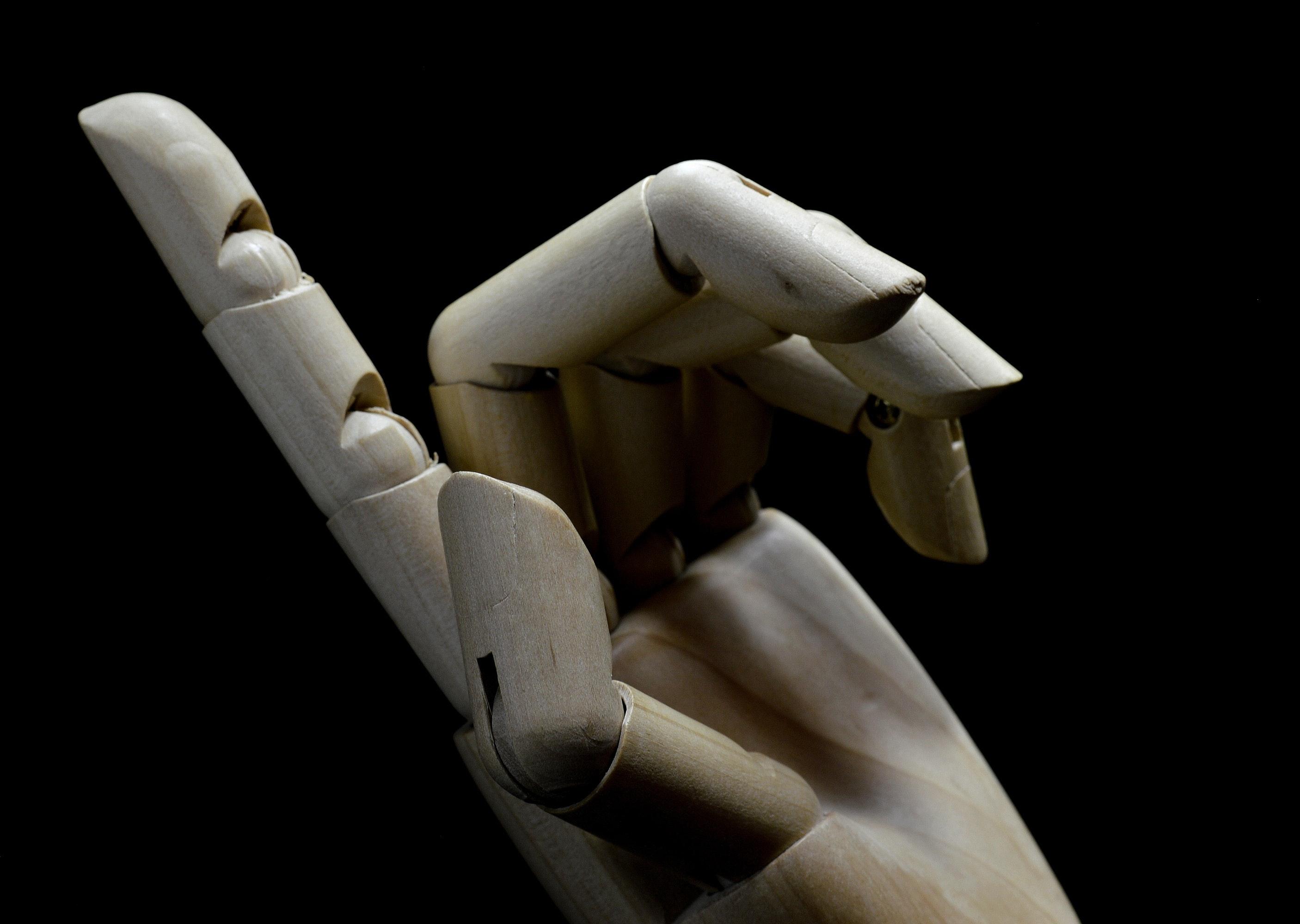 Left Index Finger, Art, Creative, Dark, Doll, HQ Photo