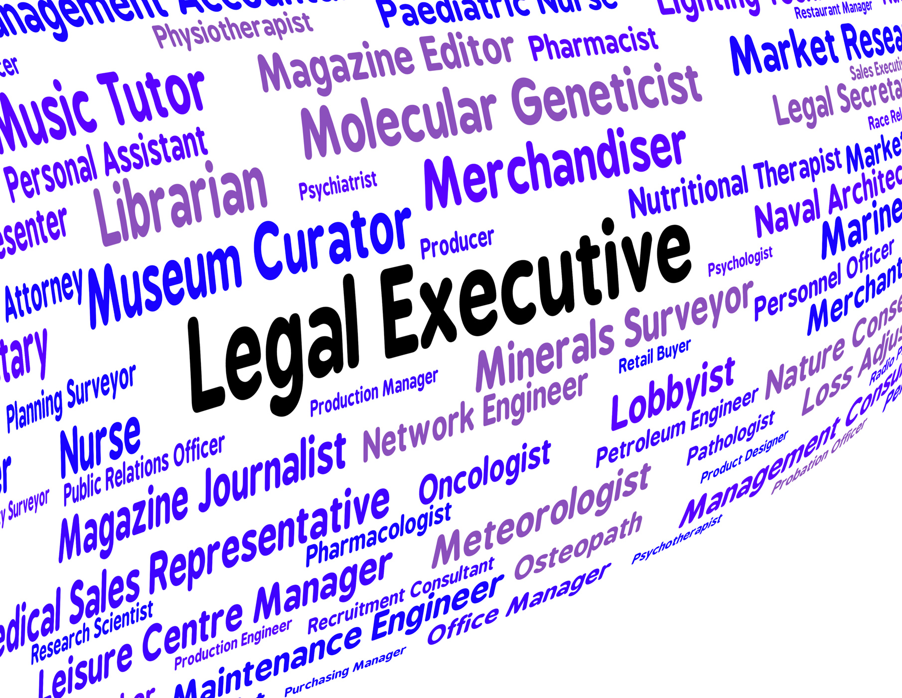 Legal executive means managing director and attorney photo