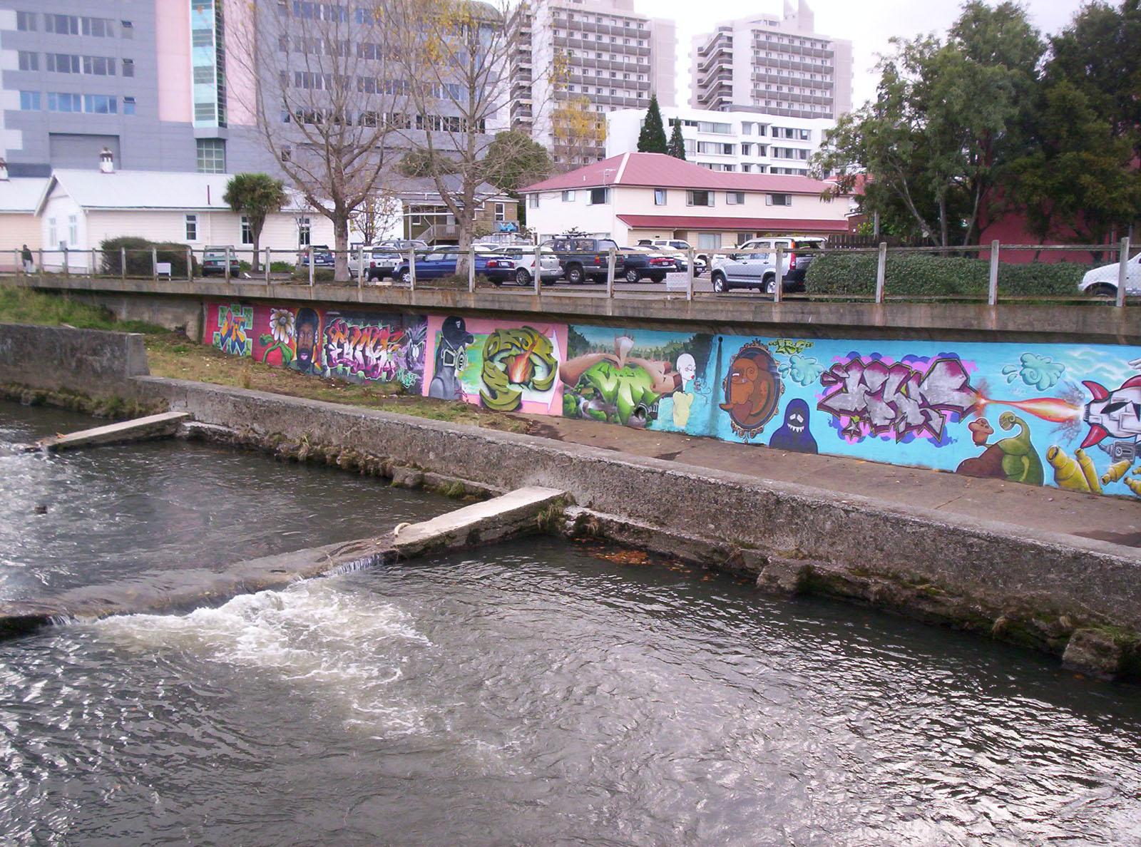 Leithbank Extension, Bspo06, Commerce, Dunedin, Graffiti, HQ Photo