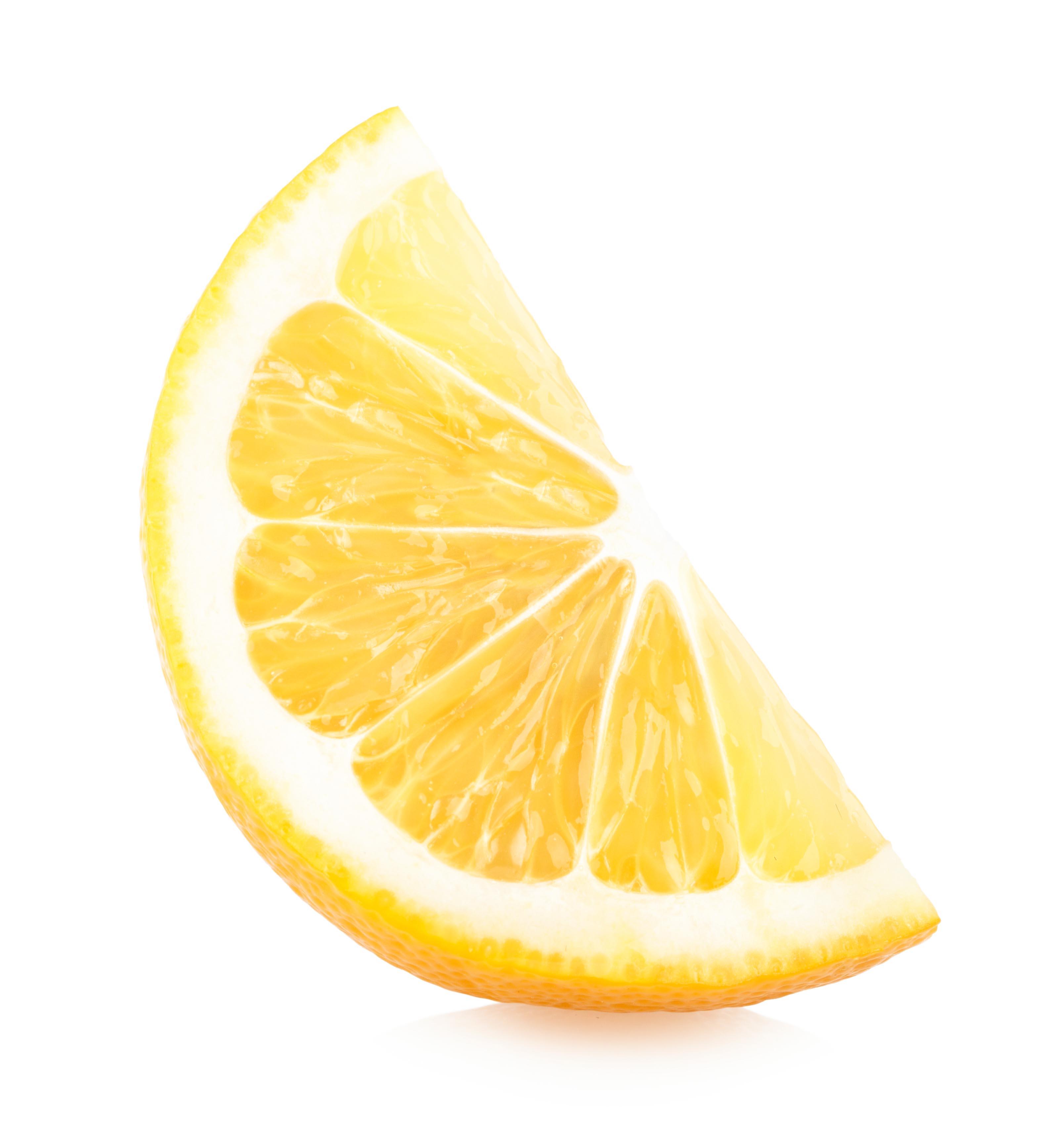Lemon Slice, 1, Refreshing, Leaf, Lemon, HQ Photo