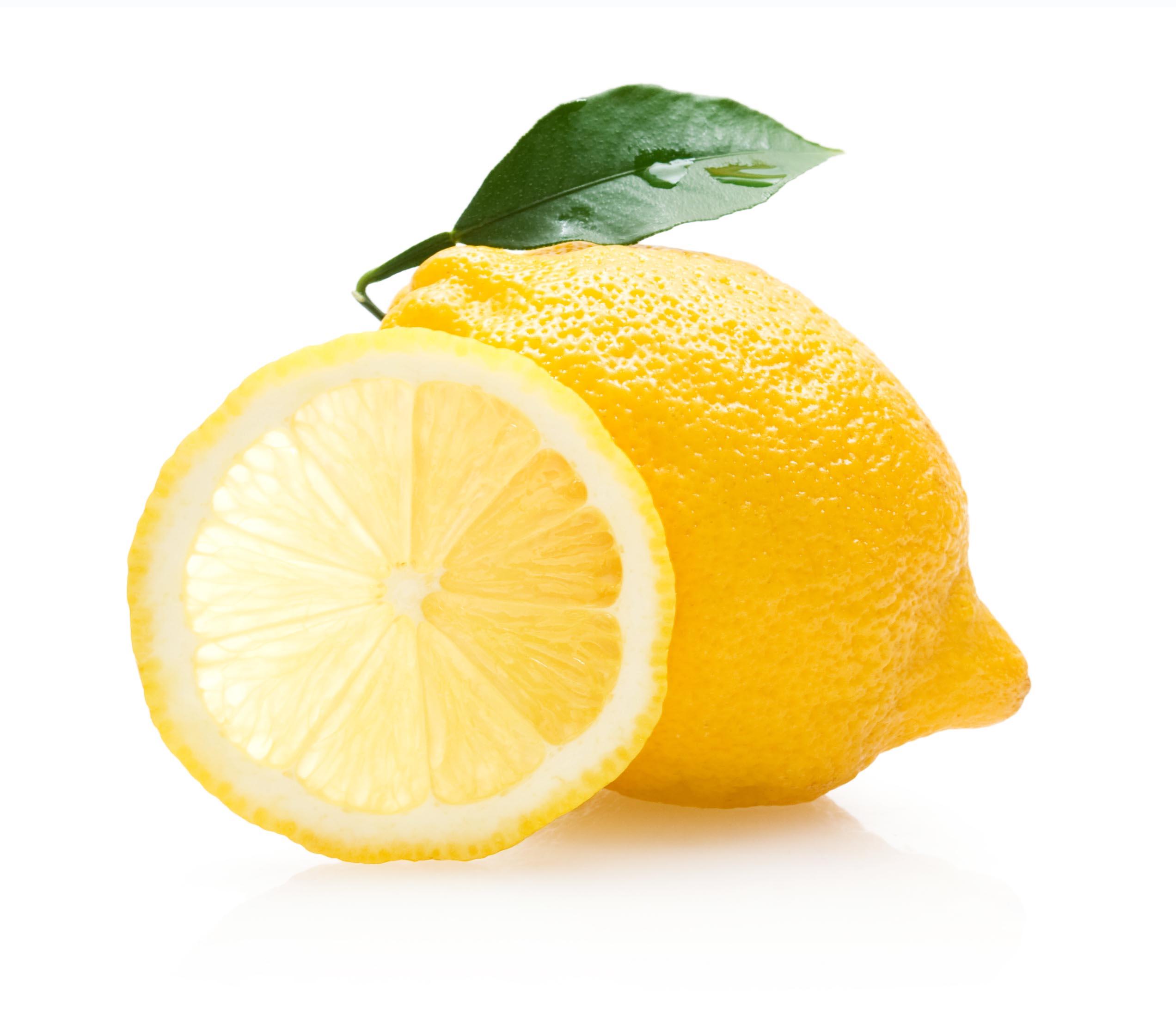 Lemon, 1, Refreshing, Leaf, Macro, HQ Photo