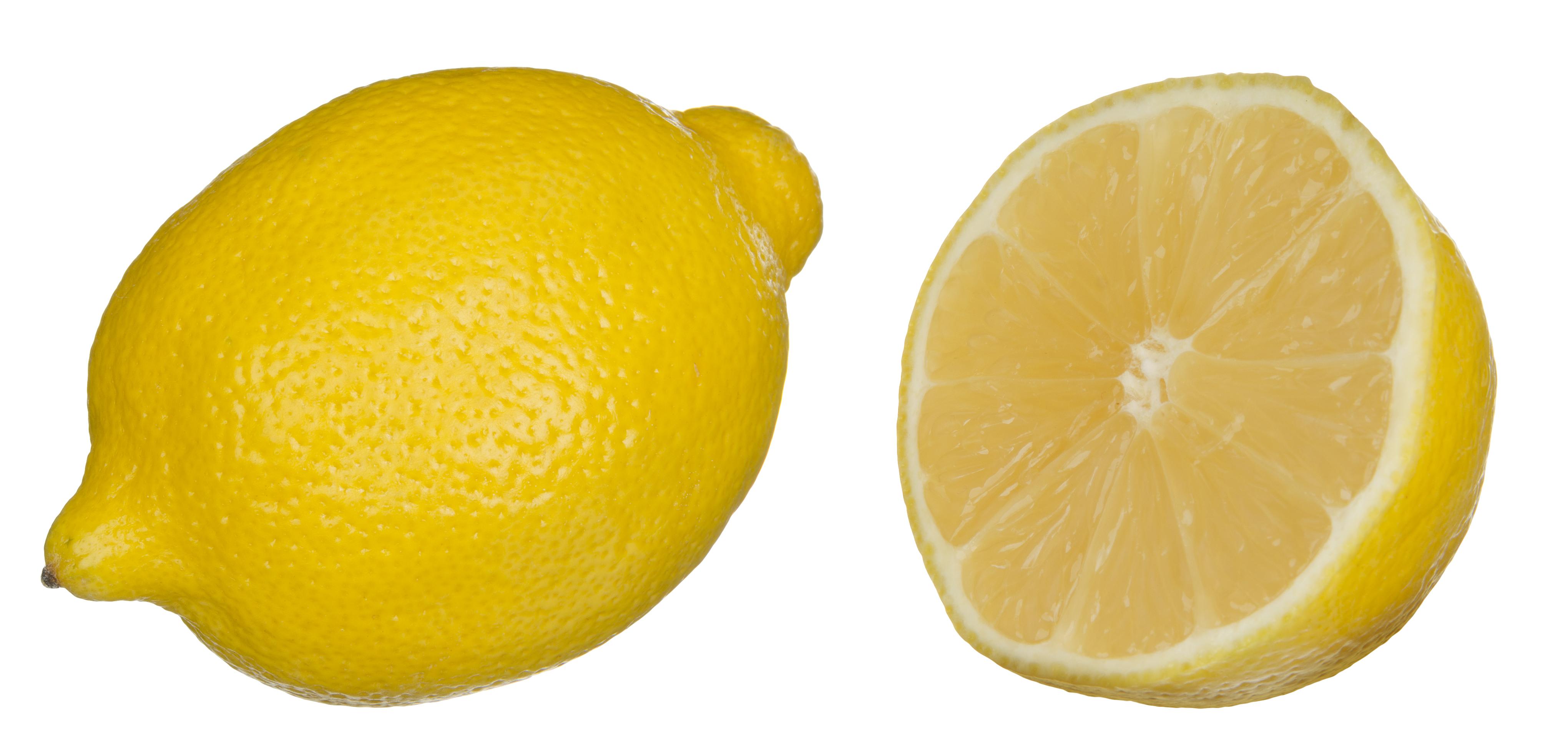 Ripe lemon photo