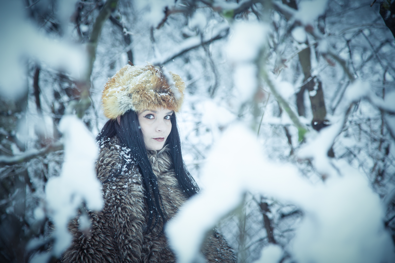 Lenka - blue winter photo