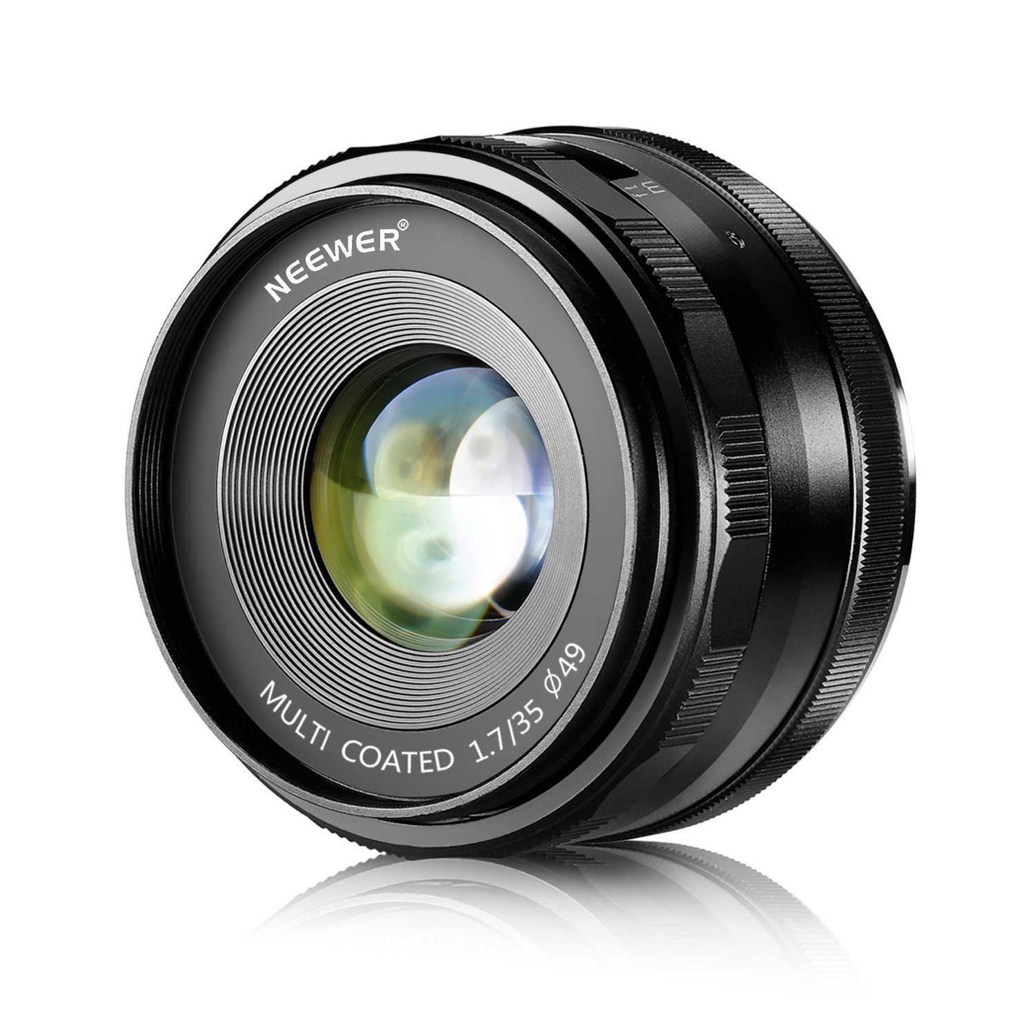 Amazon.com : Neewer 35mm F/1.7 Large Aperture Manual Prime Fixed ...