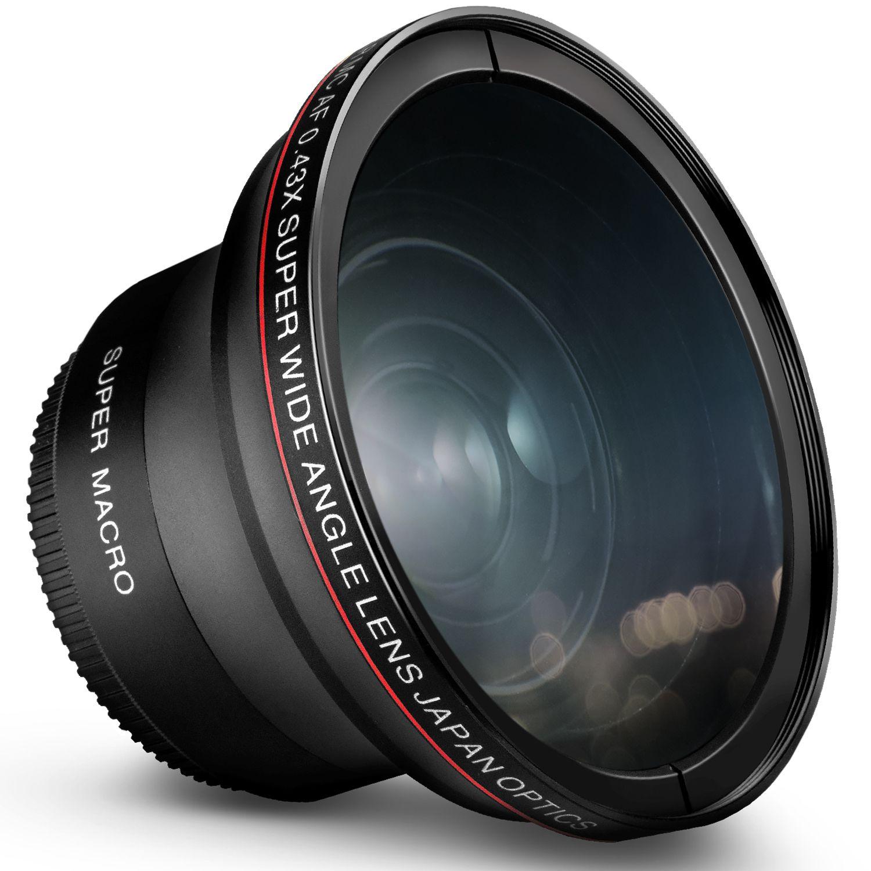 Lens macro photo