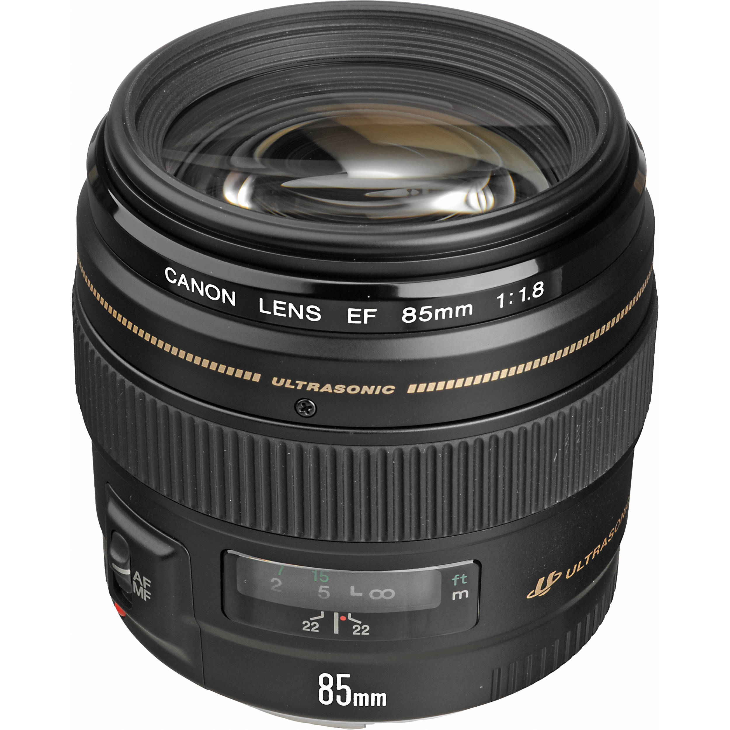 Canon EF 85mm f/1.8 USM 85mm Lens 2519A003 B&H Photo