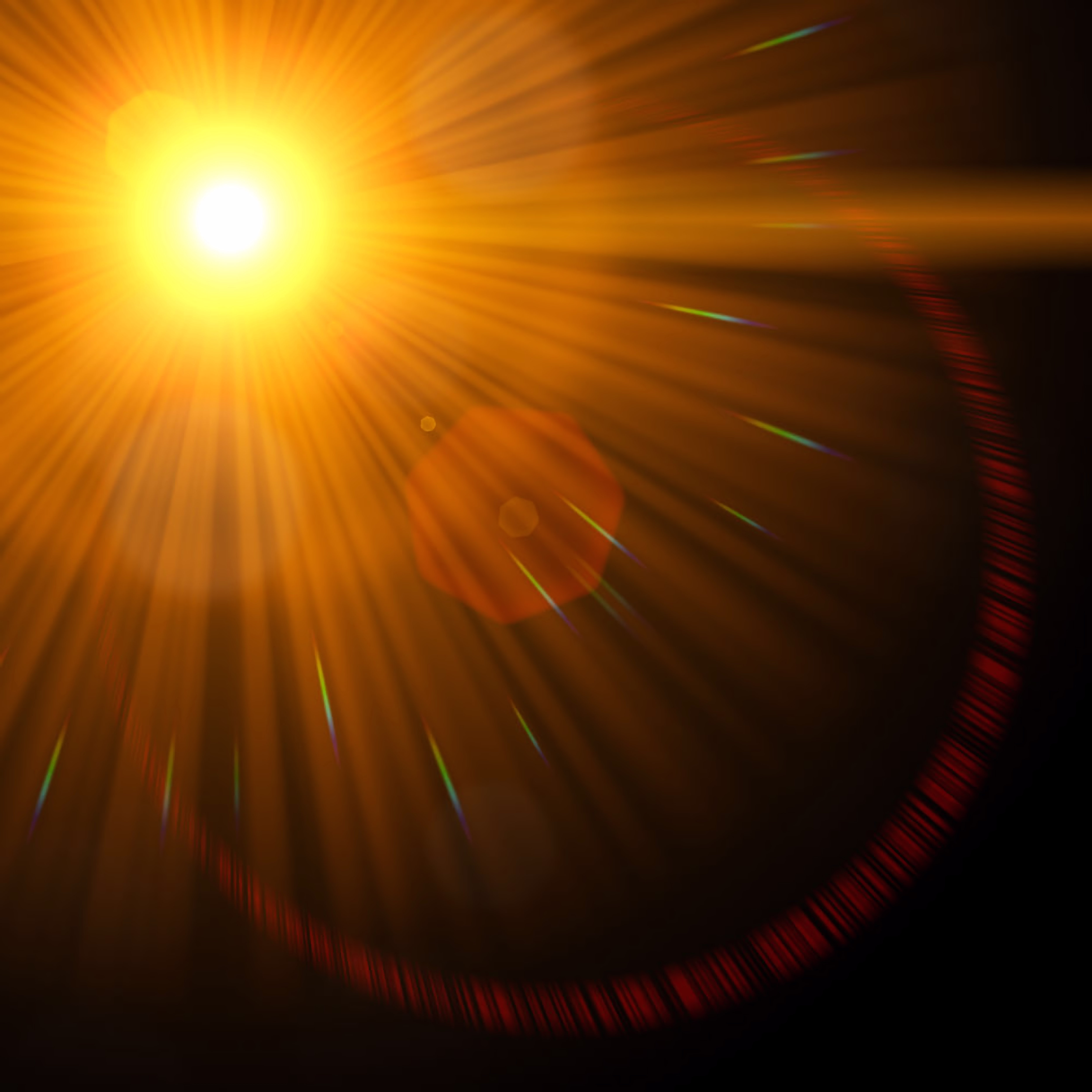 Lens Flare, Abstract, Bright, Created, Design, HQ Photo