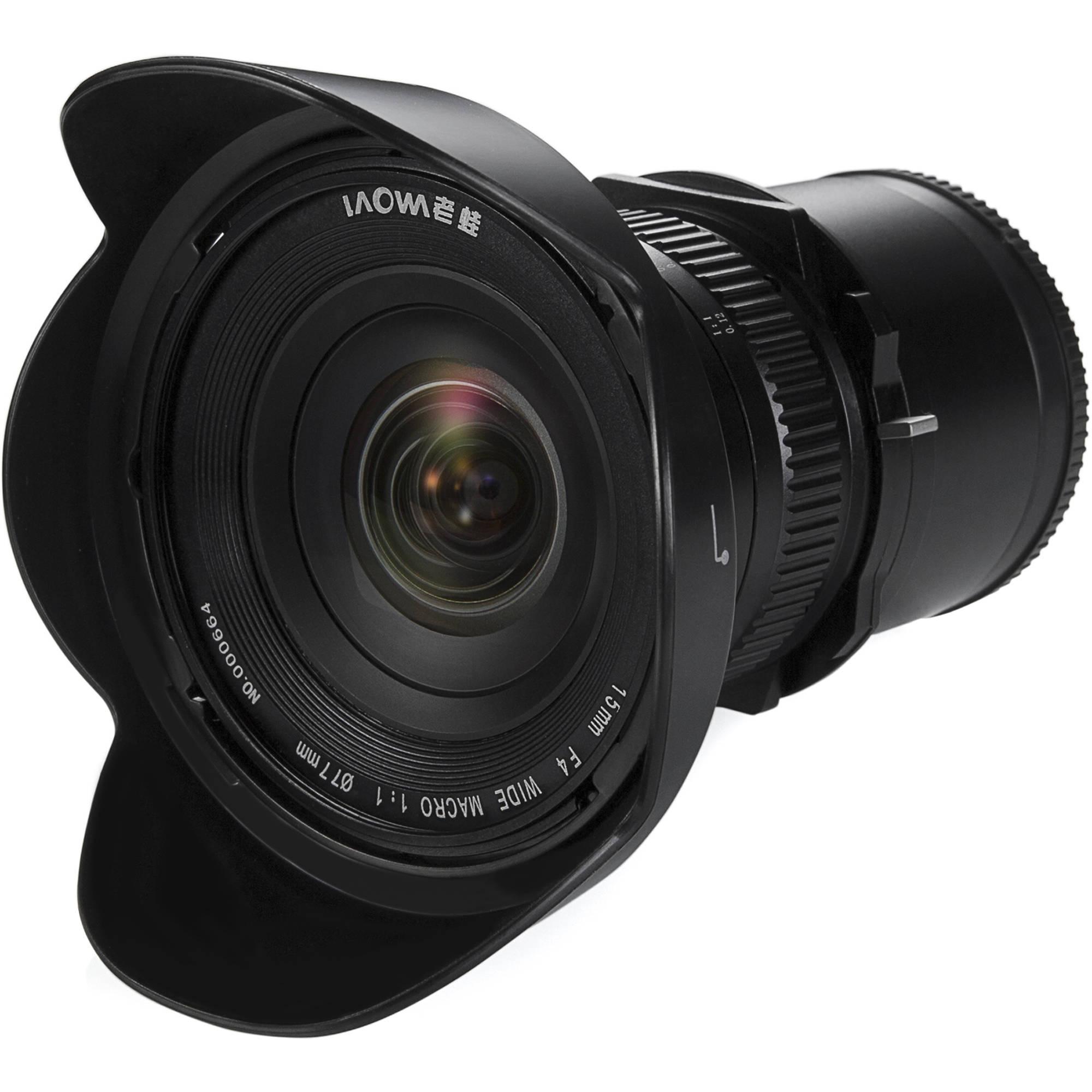 Venus Optics Laowa 15mm f/4 Macro Lens for Sony E VE1540SFE B&H