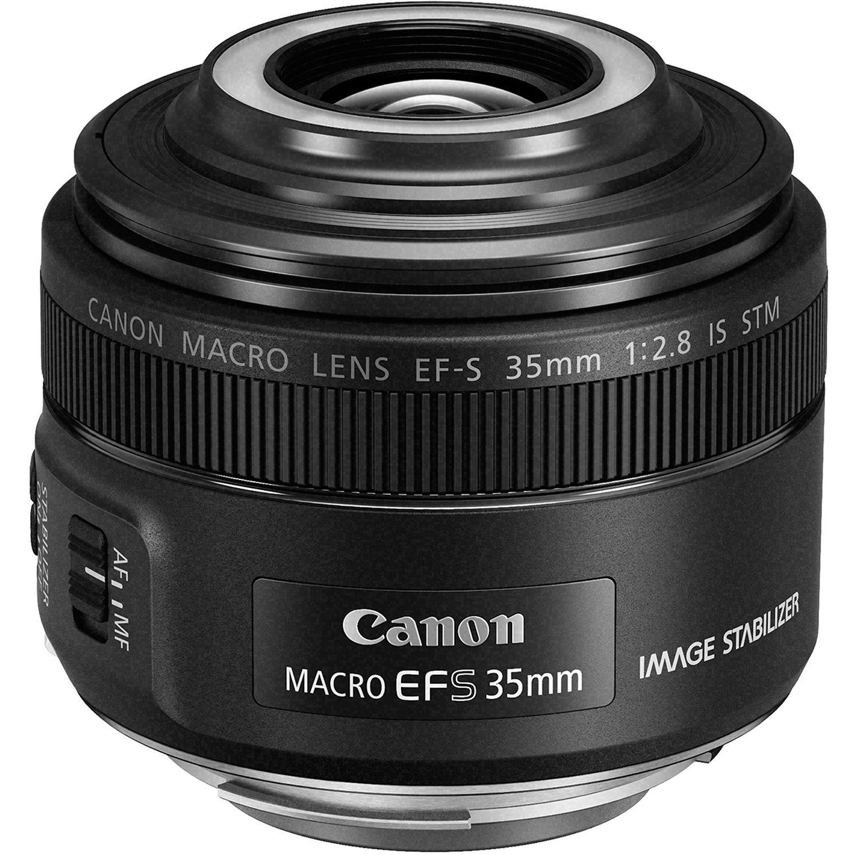 Canon EF-S 35mm f/2.8 Macro IS STM Lens 2220C002 B&H Photo Video