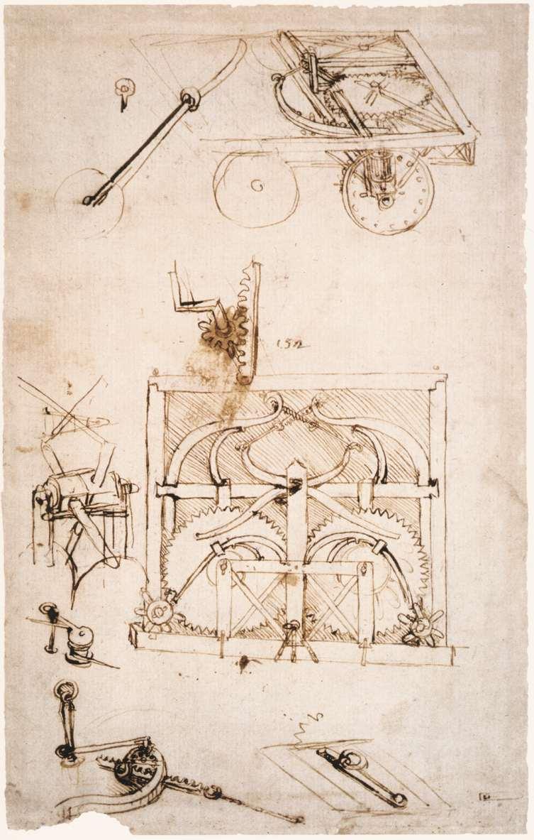 Leonardo da vinci drawings photo