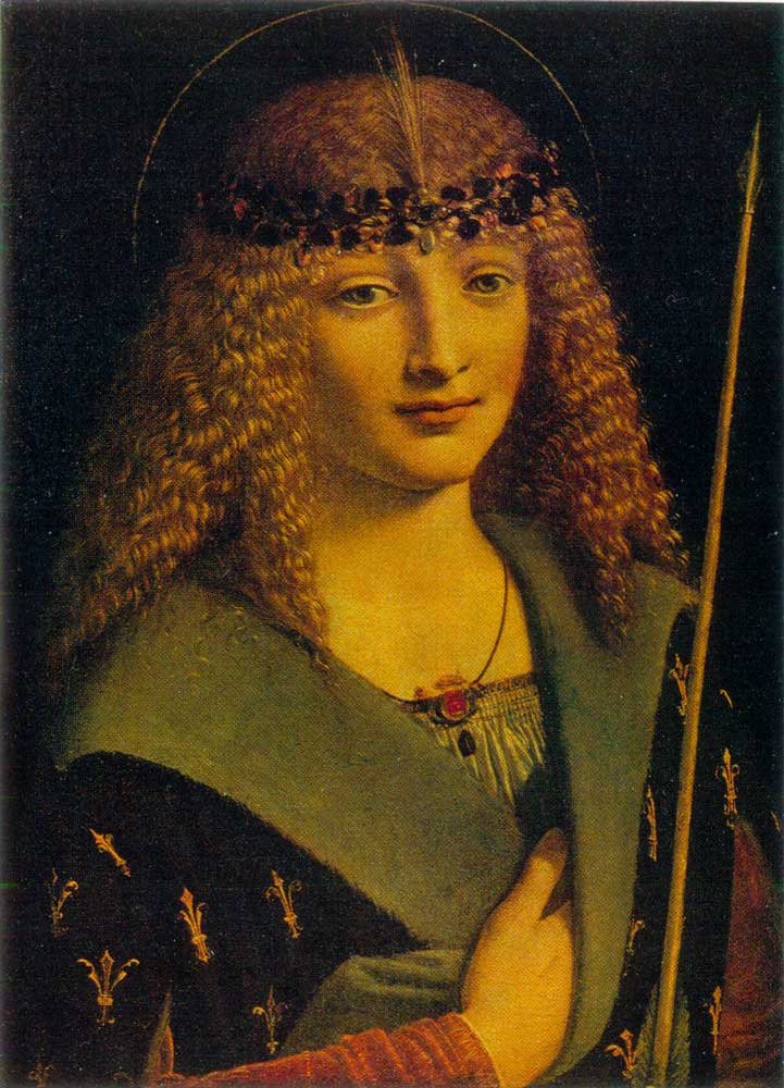 Leonardo da vinci painting photo