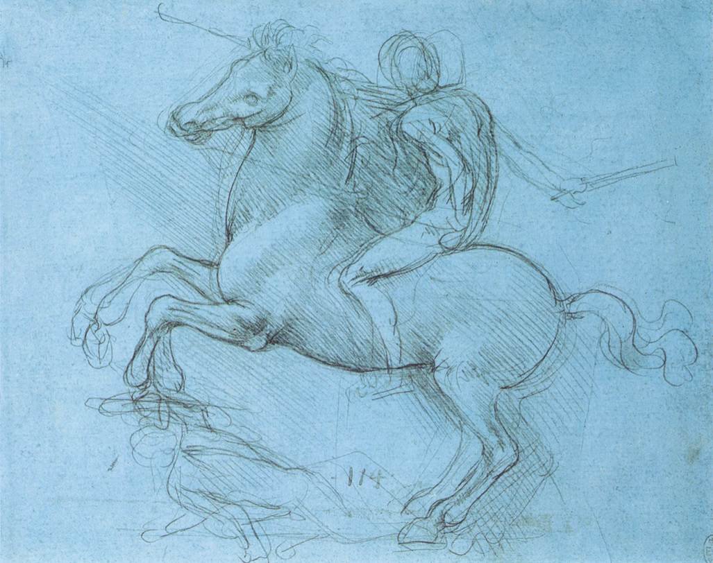 Leonardo da vinci sketch photo
