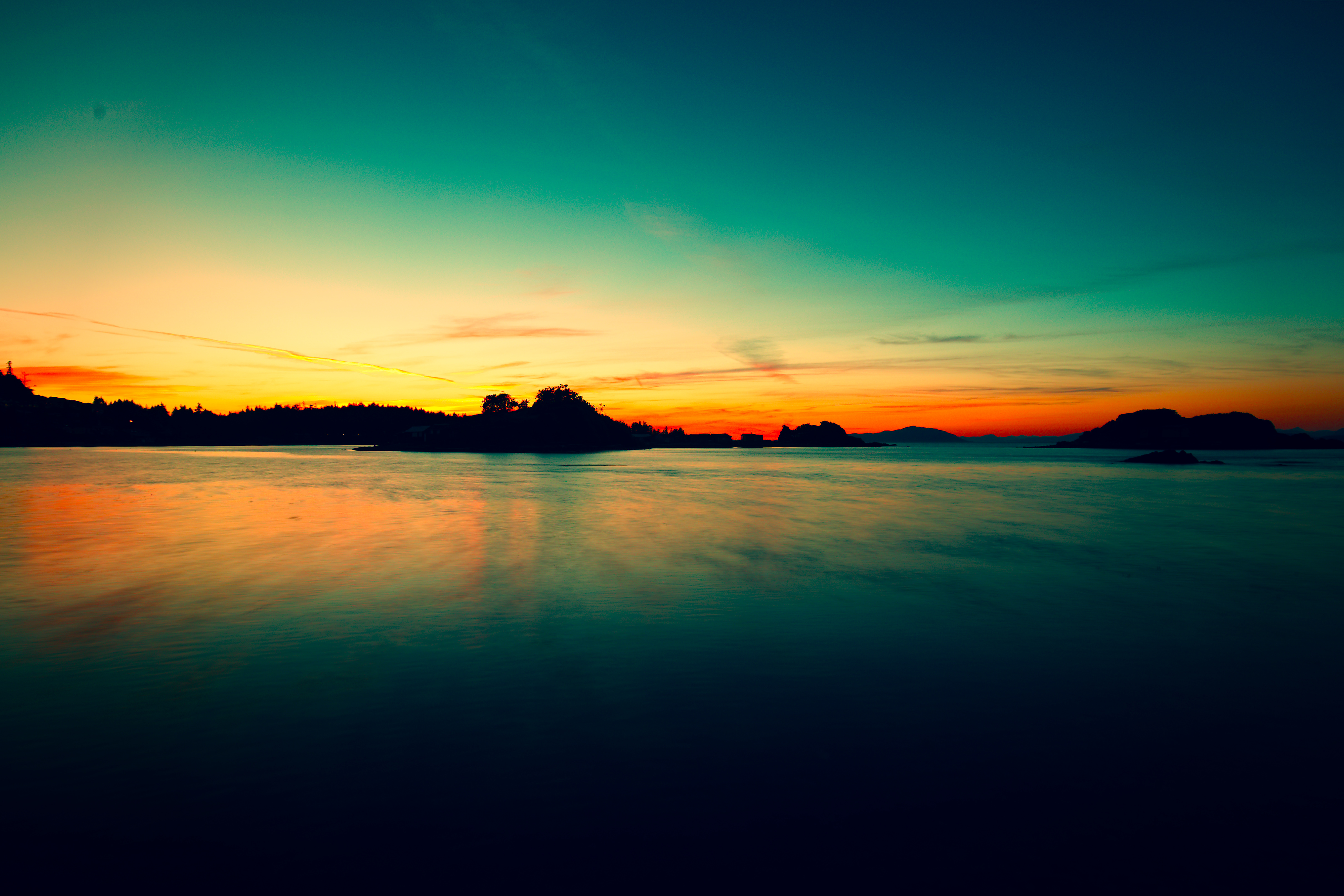 Let there be Saturation, Beach, Cloud, Coast, Dusk, HQ Photo