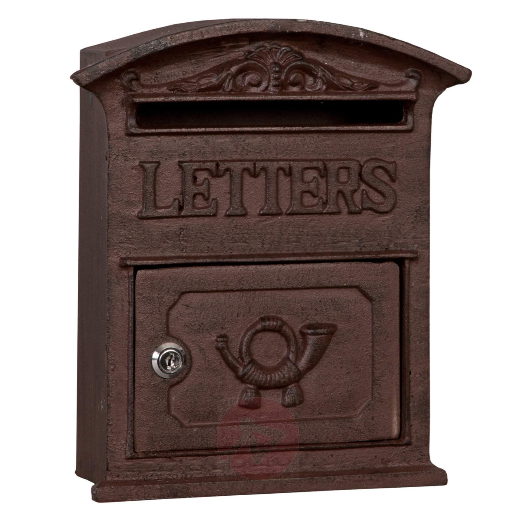 Antiko Wonderful Cast Iron Letter Box Bunch Ideas Of Cast Iron ...