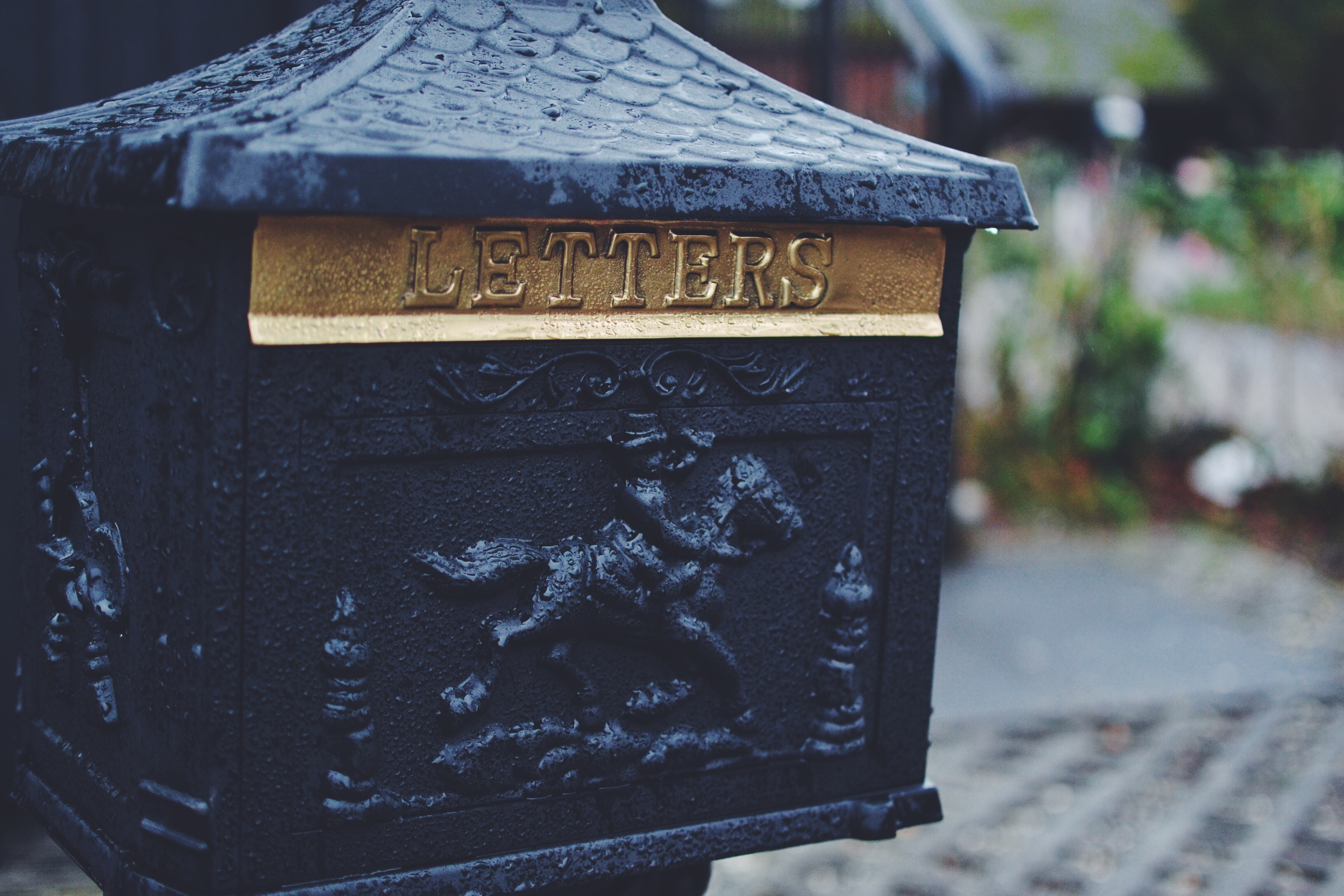 Letter box, Message, Stock, Letter, House, HQ Photo