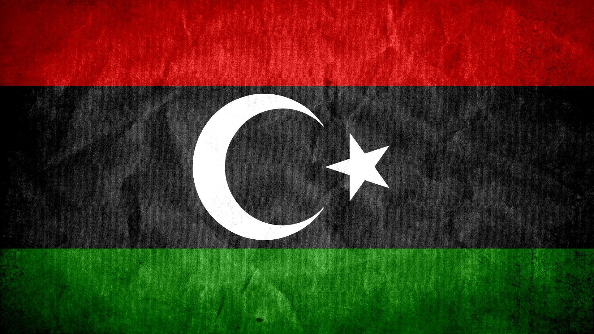 2 Flag Of Libya HD Wallpapers | Backgrounds - Wallpaper Abyss | Epic ...