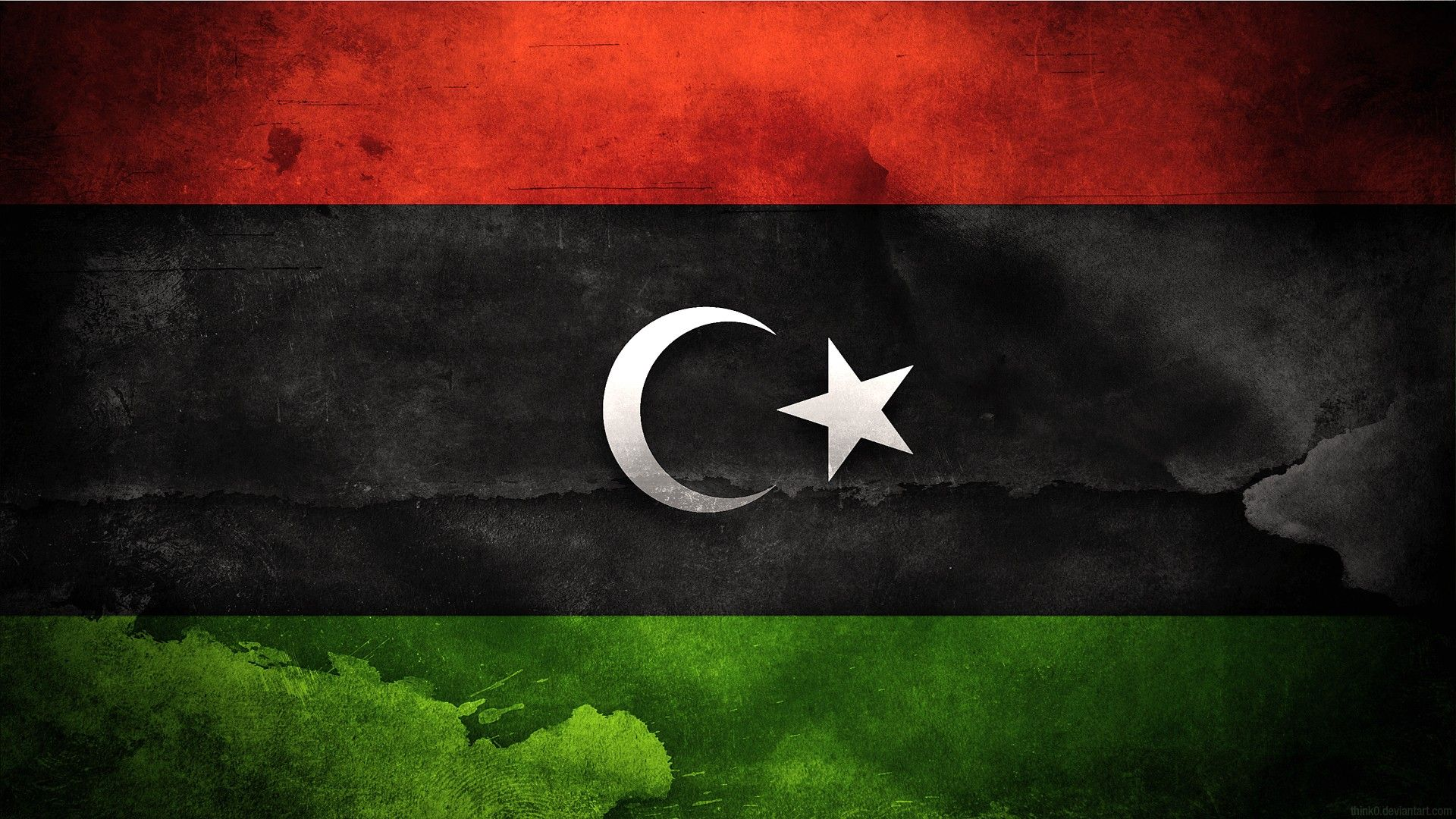 Flag Of Libya | Free Wallpapers | Pinterest