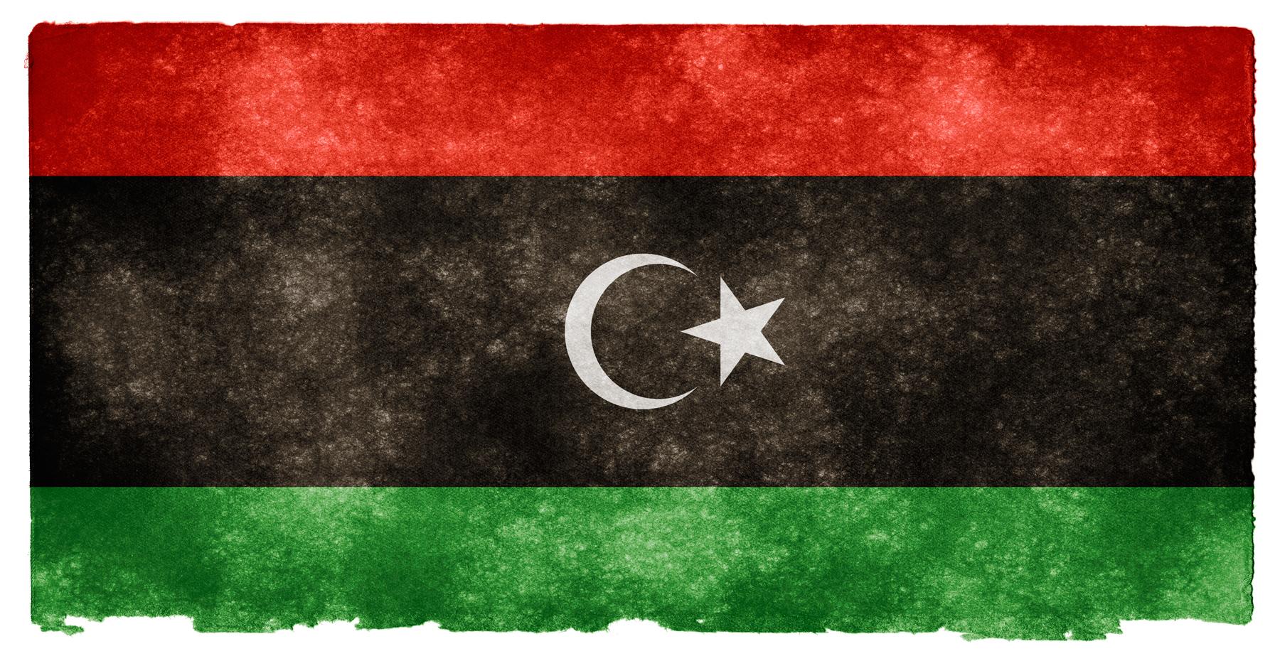 Libya Grunge Flag, Africa, Red, Libyan, Maghreb, HQ Photo
