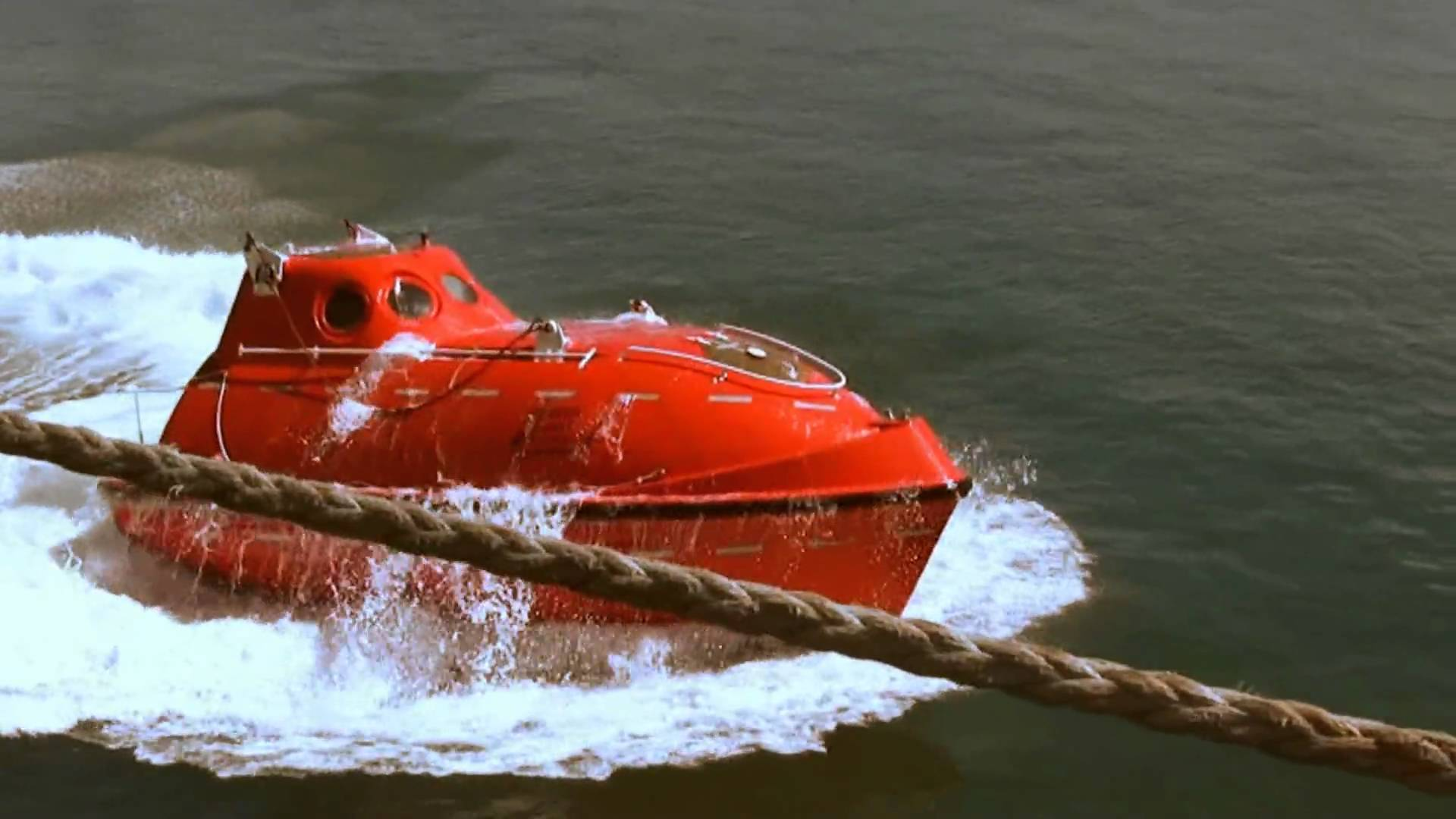 Free Fall Life boat Launch 5-11-09 - YouTube