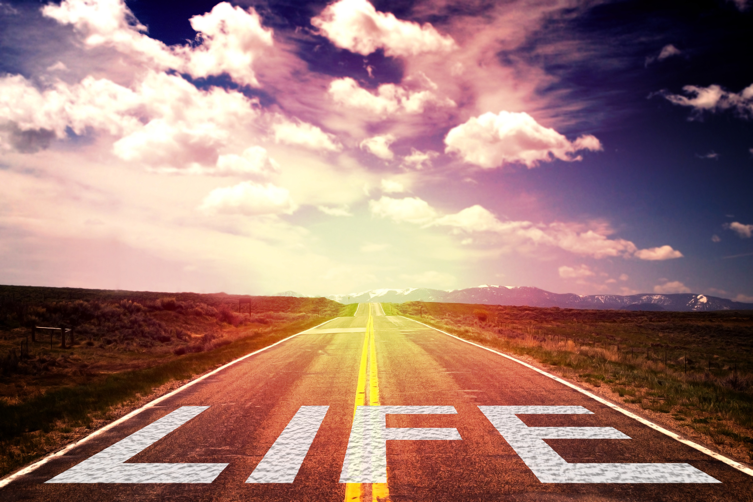 Life is a Journey - Concept, Abstract, Pointer, Roadsign, Road, HQ Photo