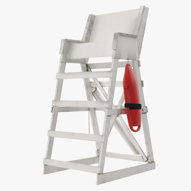 Lifeguard's chair photo