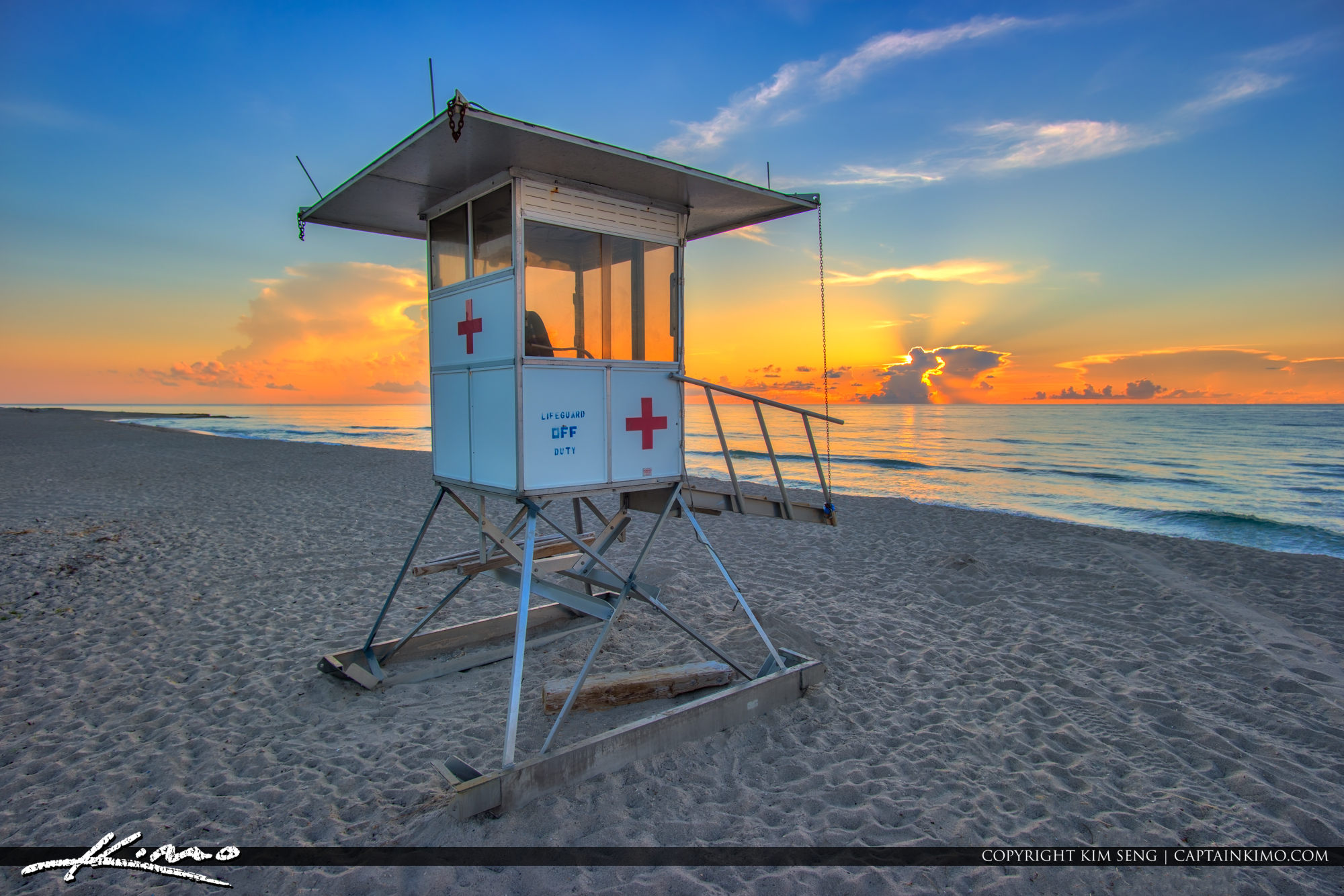 Lifeguard tower photo