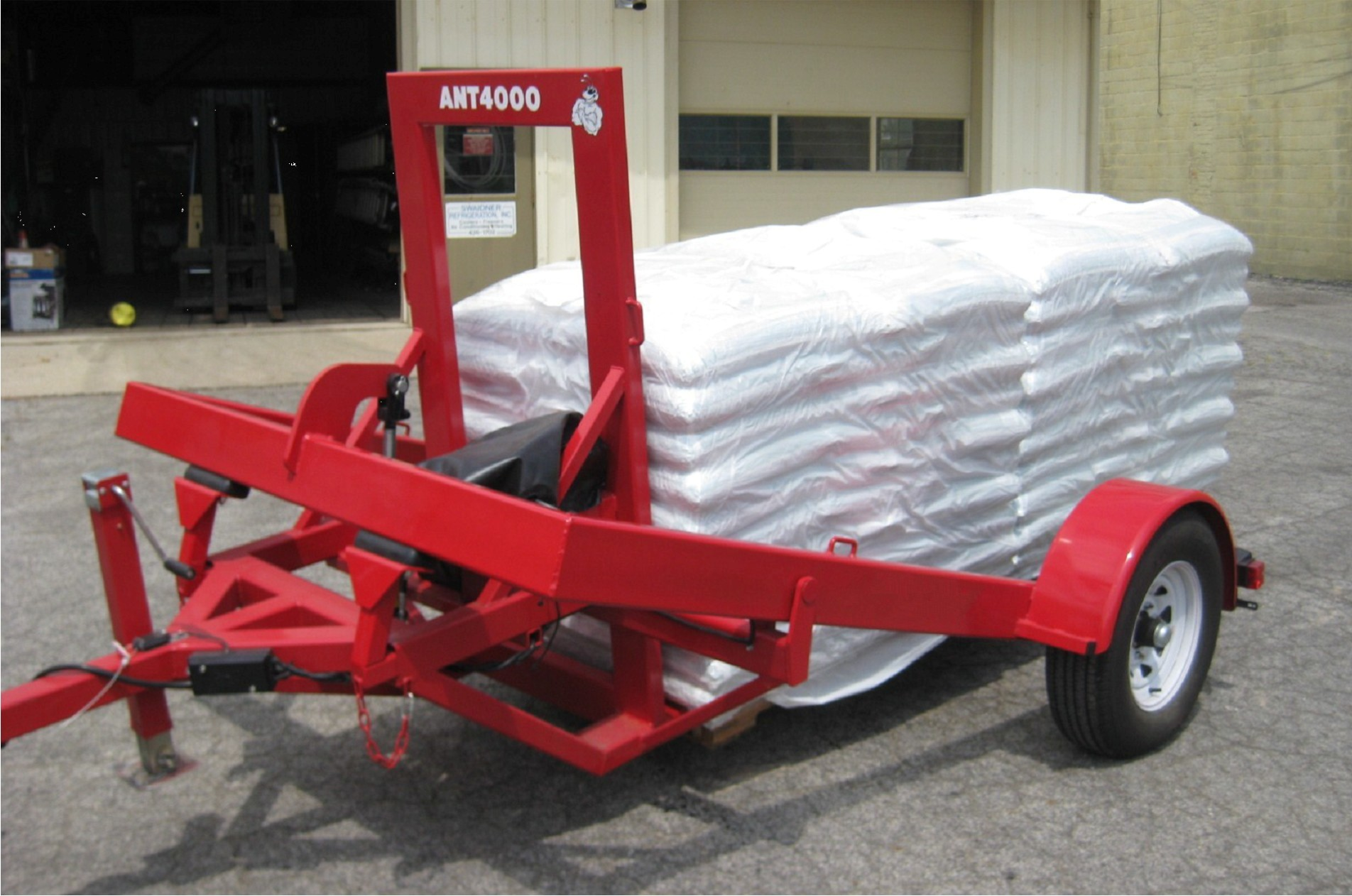 Fixed Fork Pallet Trailer | Perimeter Security Products